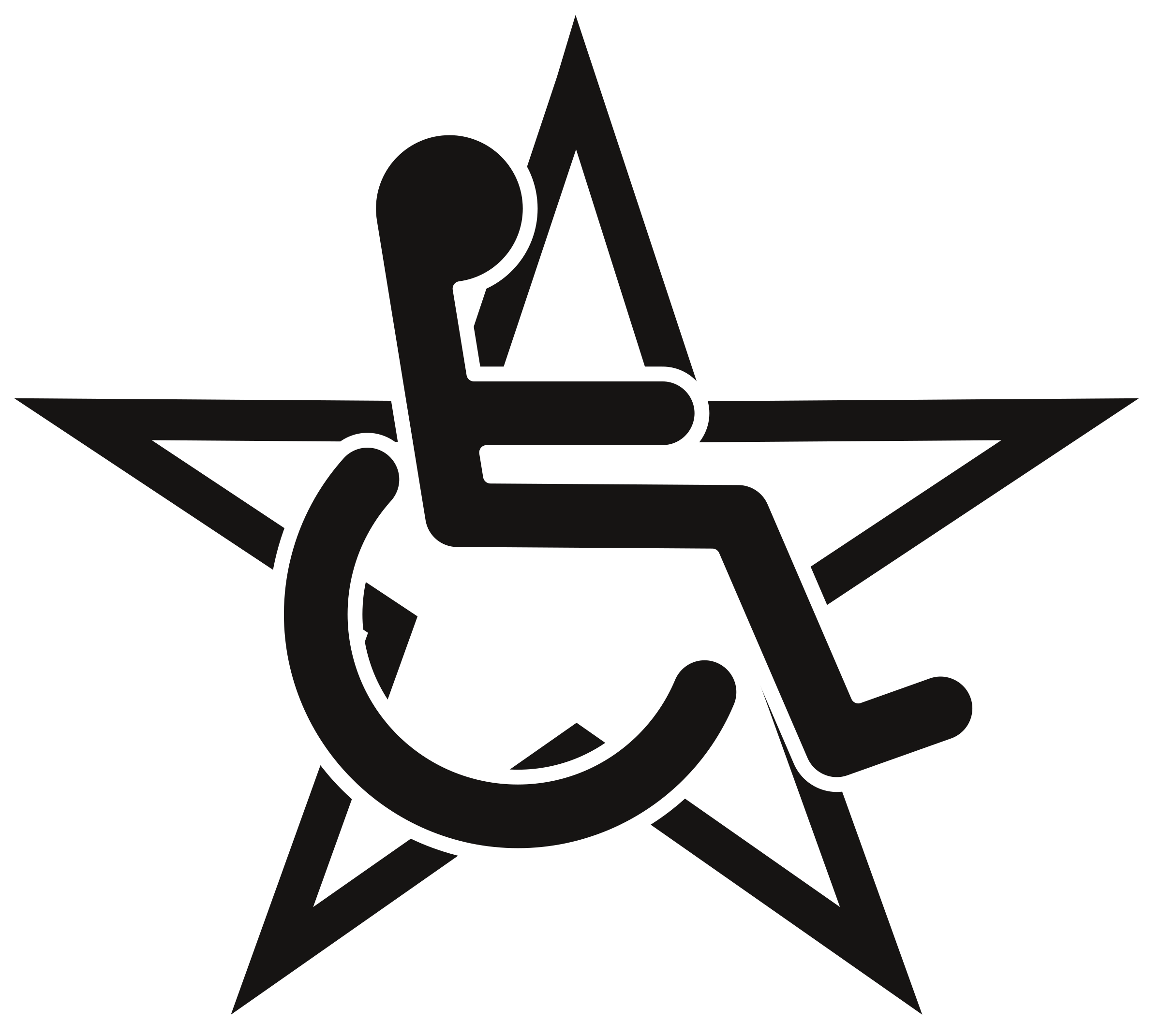 Wheelchair in a Star by hedwig