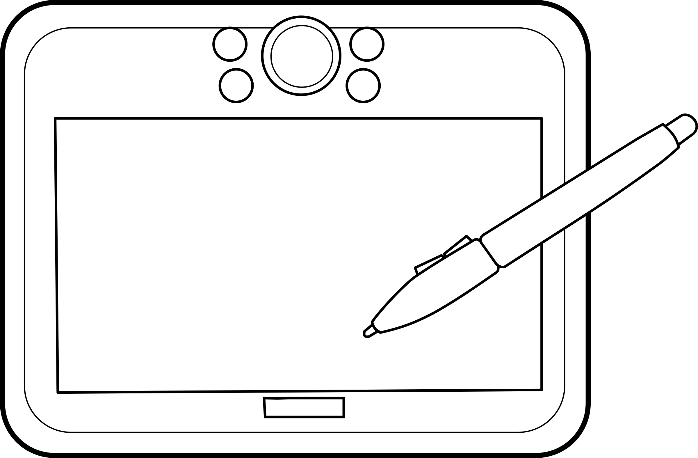Graphic Tablet  by lmproulx