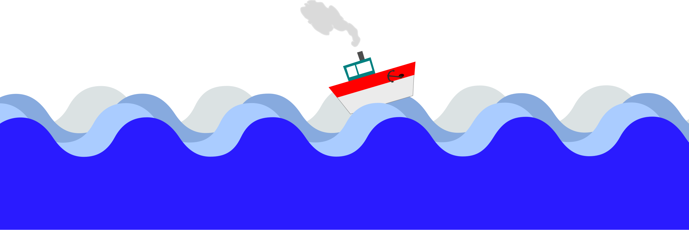 clipart boat at sea rh openclipart org sea clipart black and white sea clipart black and white