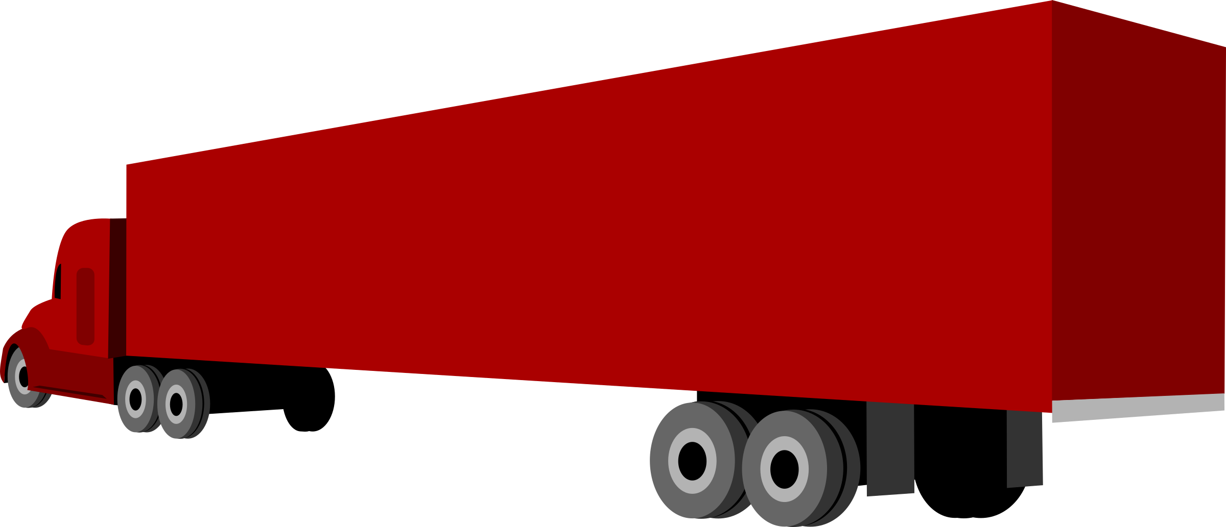 Truck and trailer by kebe