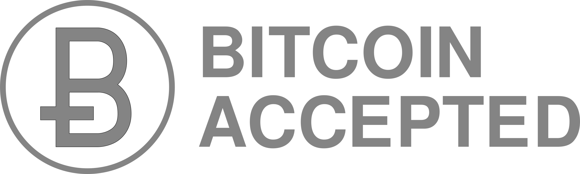 circleBitcoinAcceptedGray by ecogex