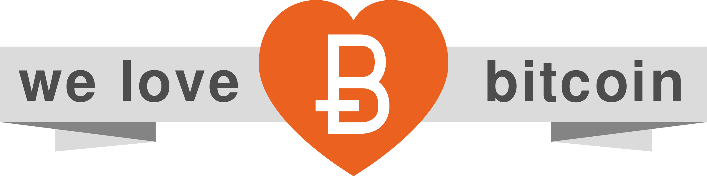 ribbonWeLoveBitcoin by ecogex