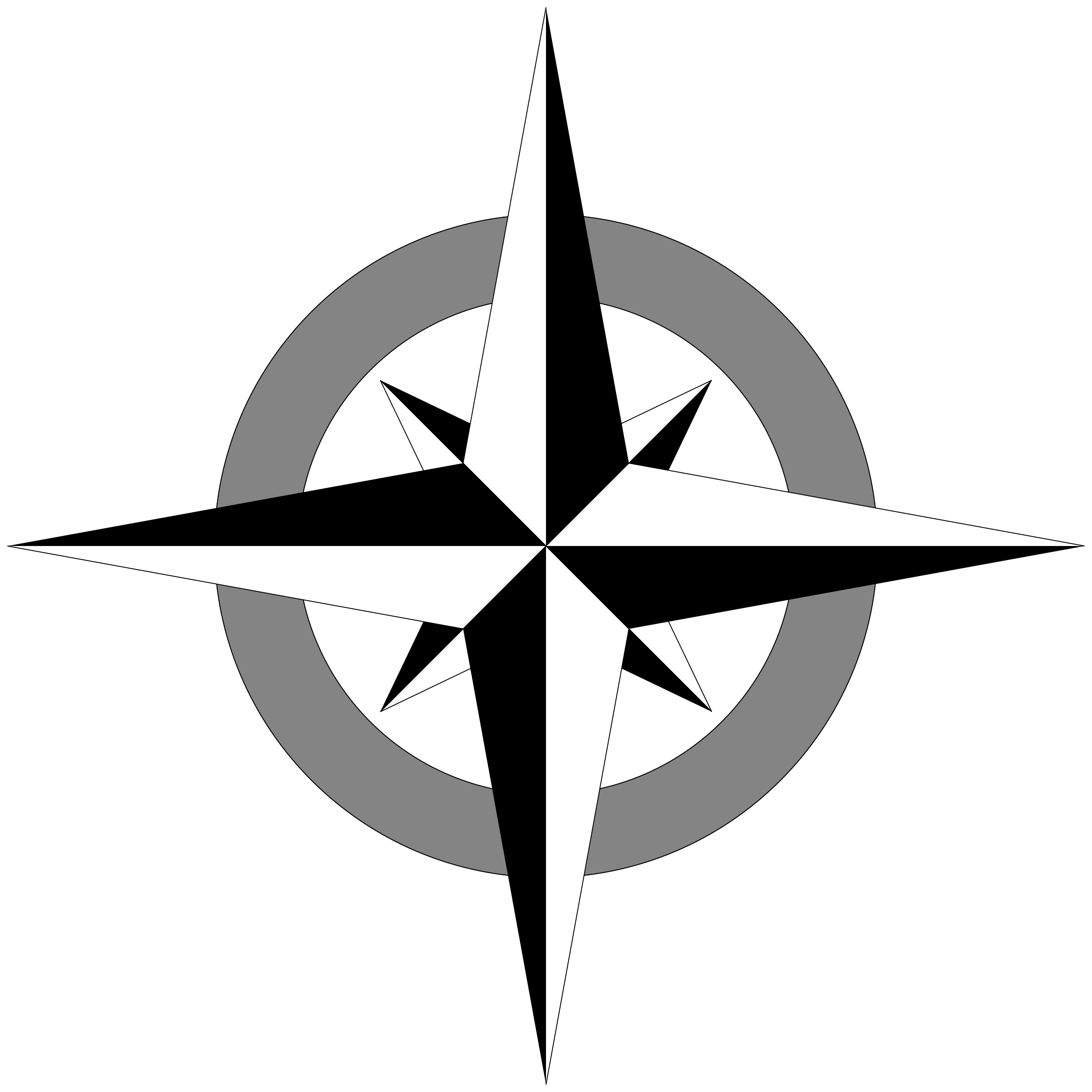 Compass Rose by SeriousTux