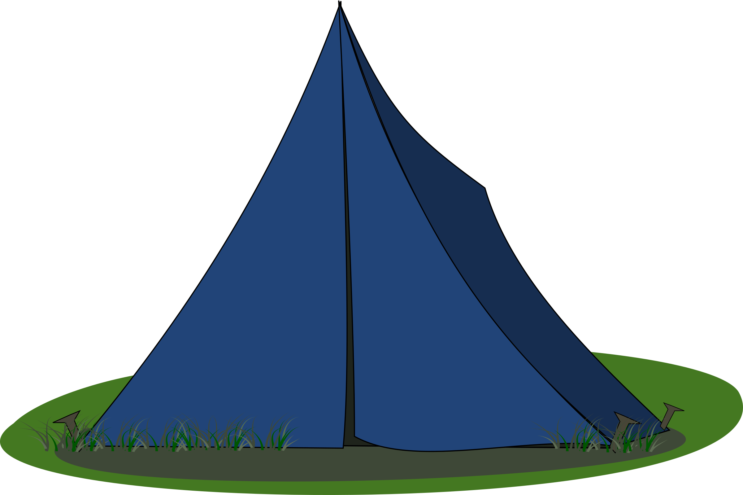 Blue Ridge Tent by stevepetmonkey