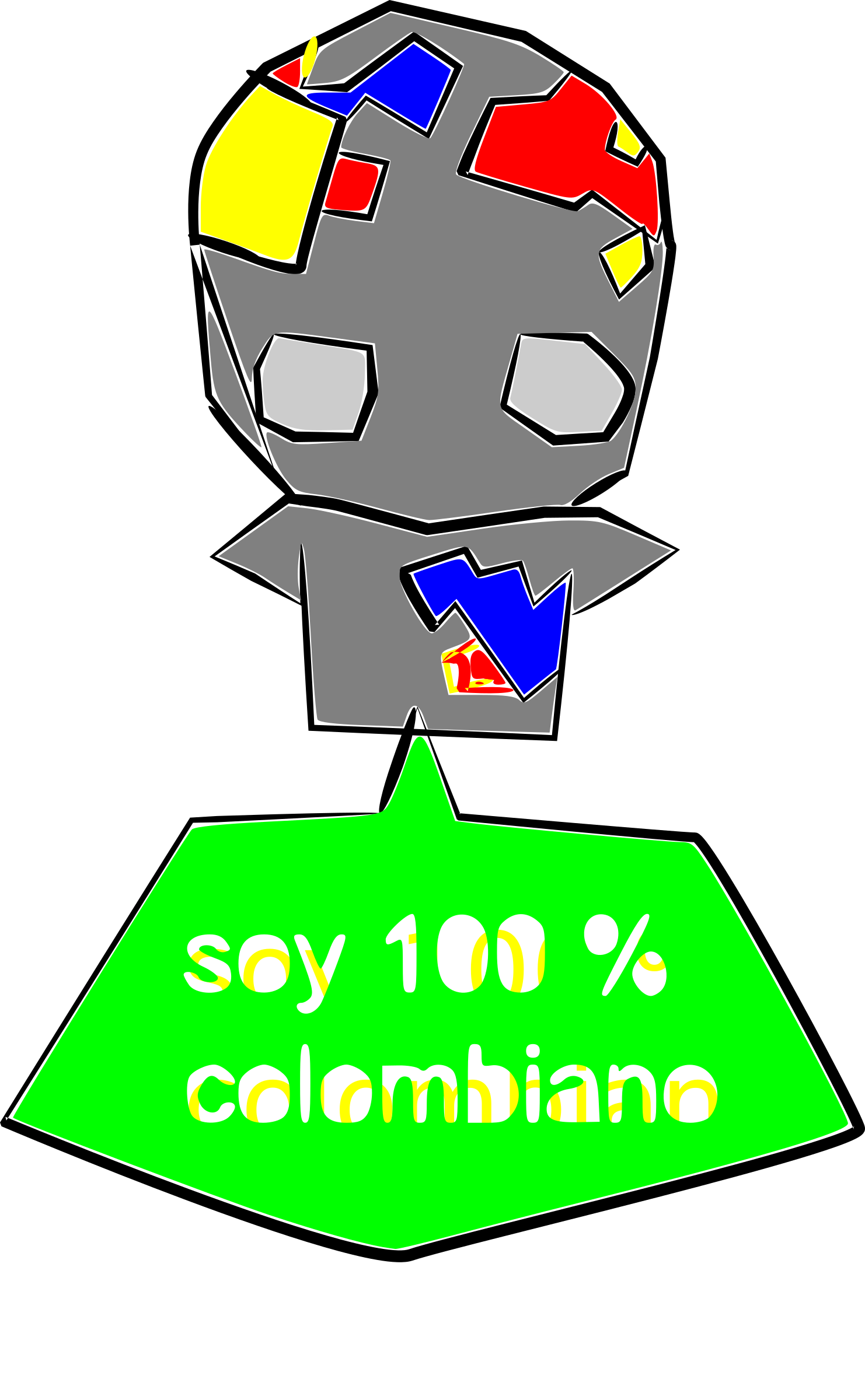 soy 100 % colombiano by crashgor8702