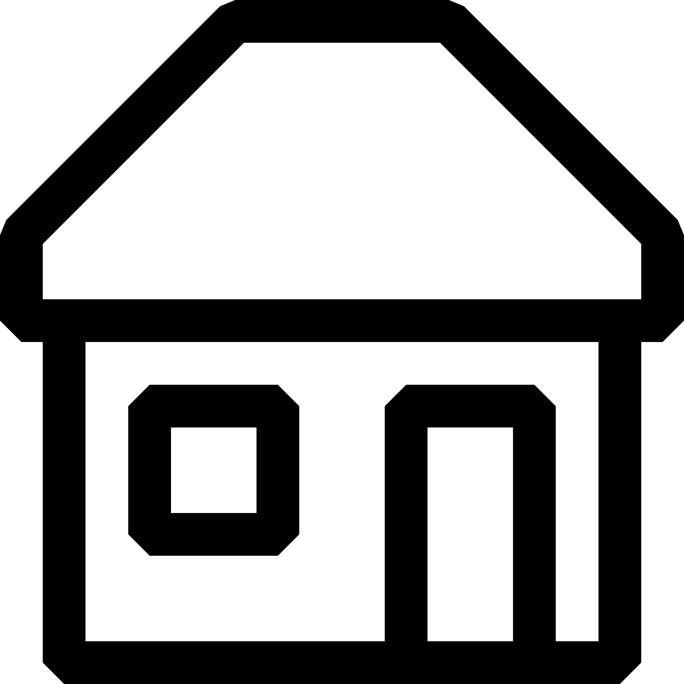 16x16px-capable, black and white icons by qubodup