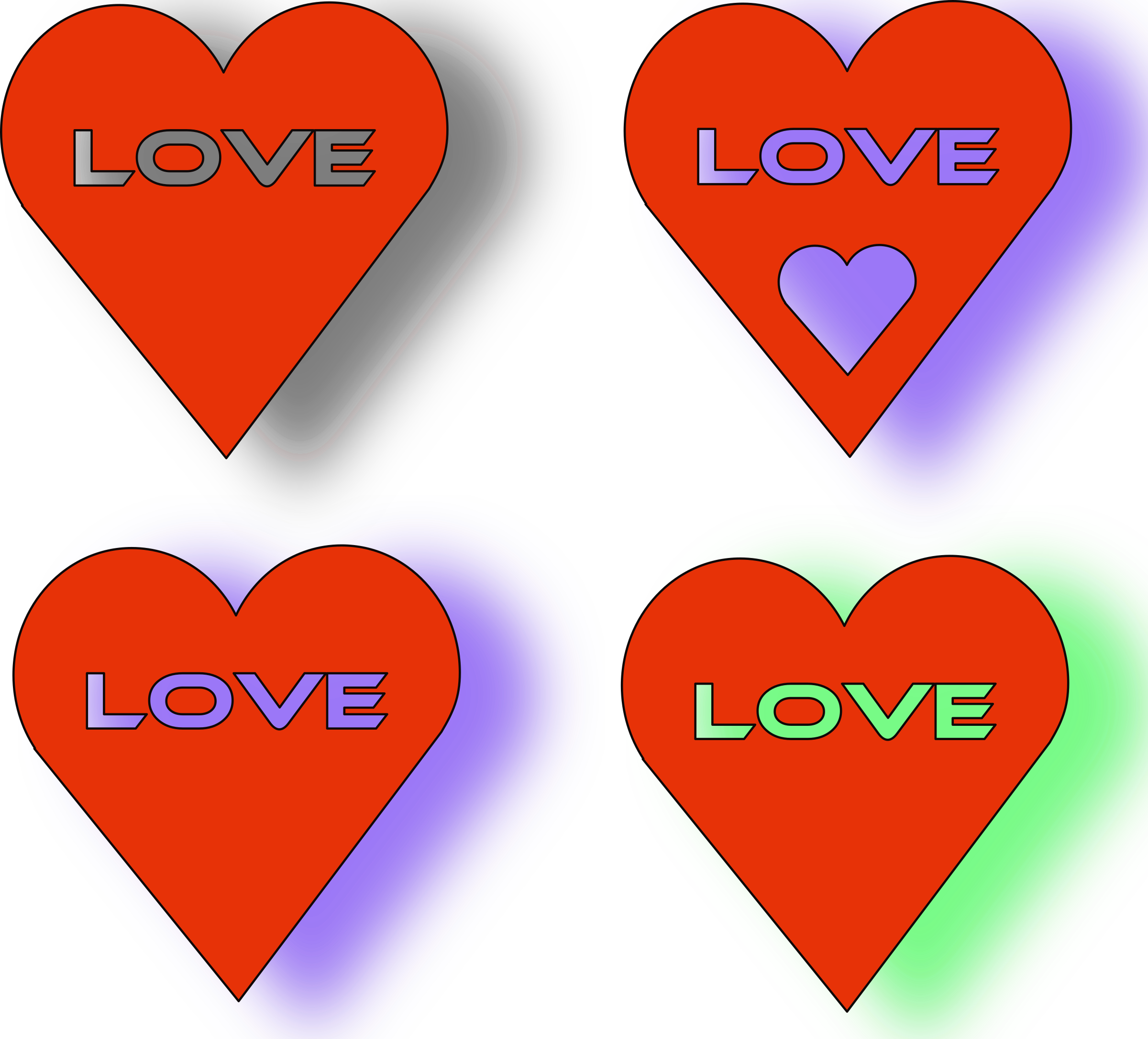 4 Love Heart´s by mystica