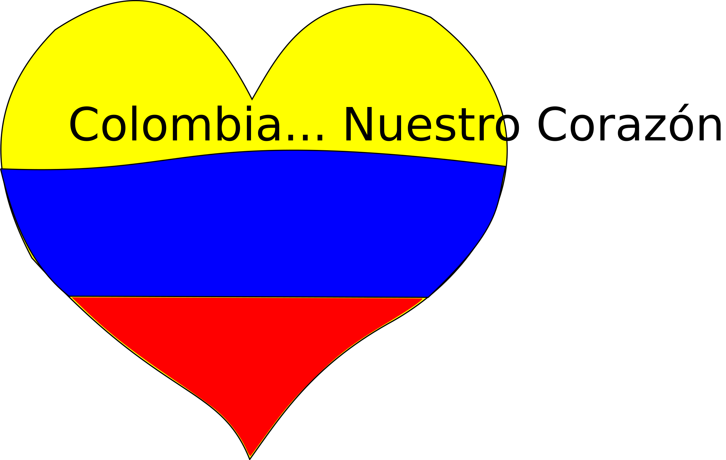 Colombia Corazón by donjuanc