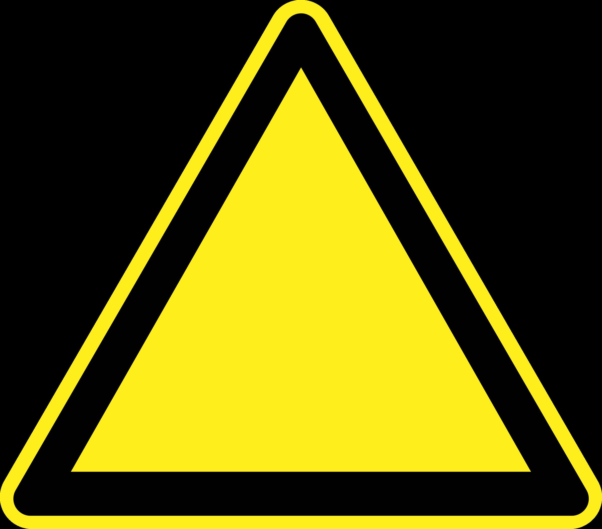 blank caution sign - photo #12