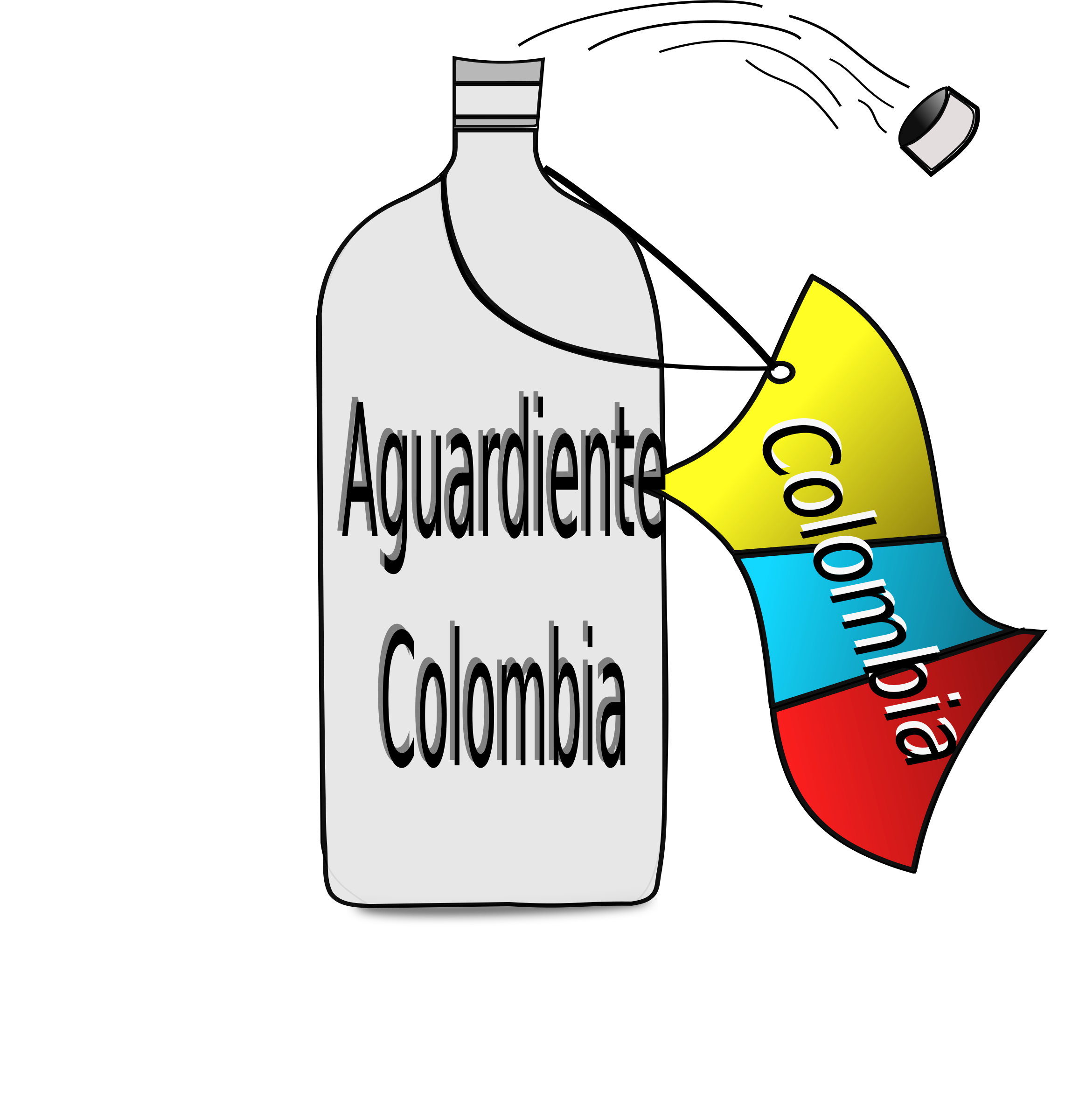 aguardiente colombia by Laura Cubillos