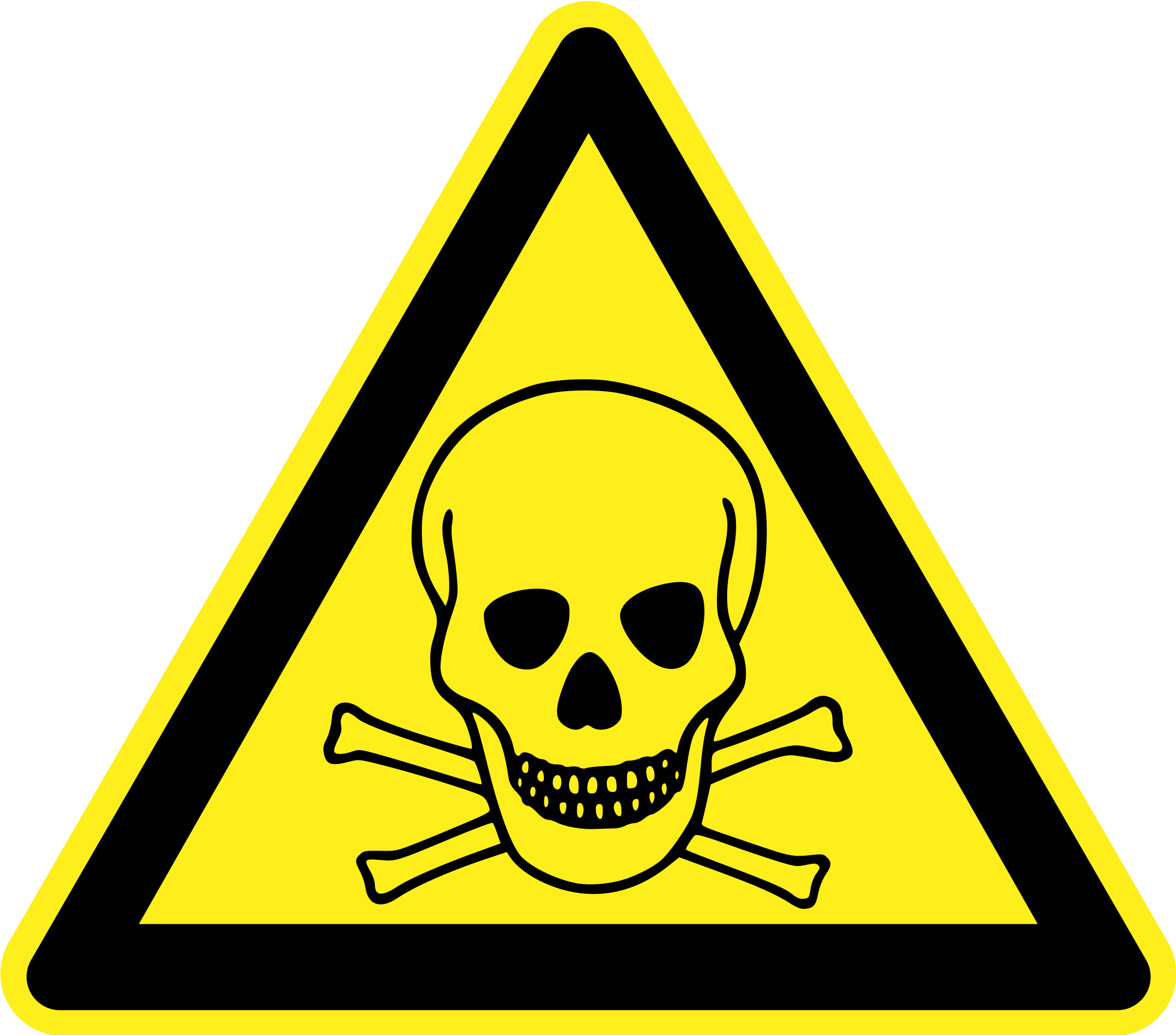 Toxic/Poison Warning Sign by h0us3s