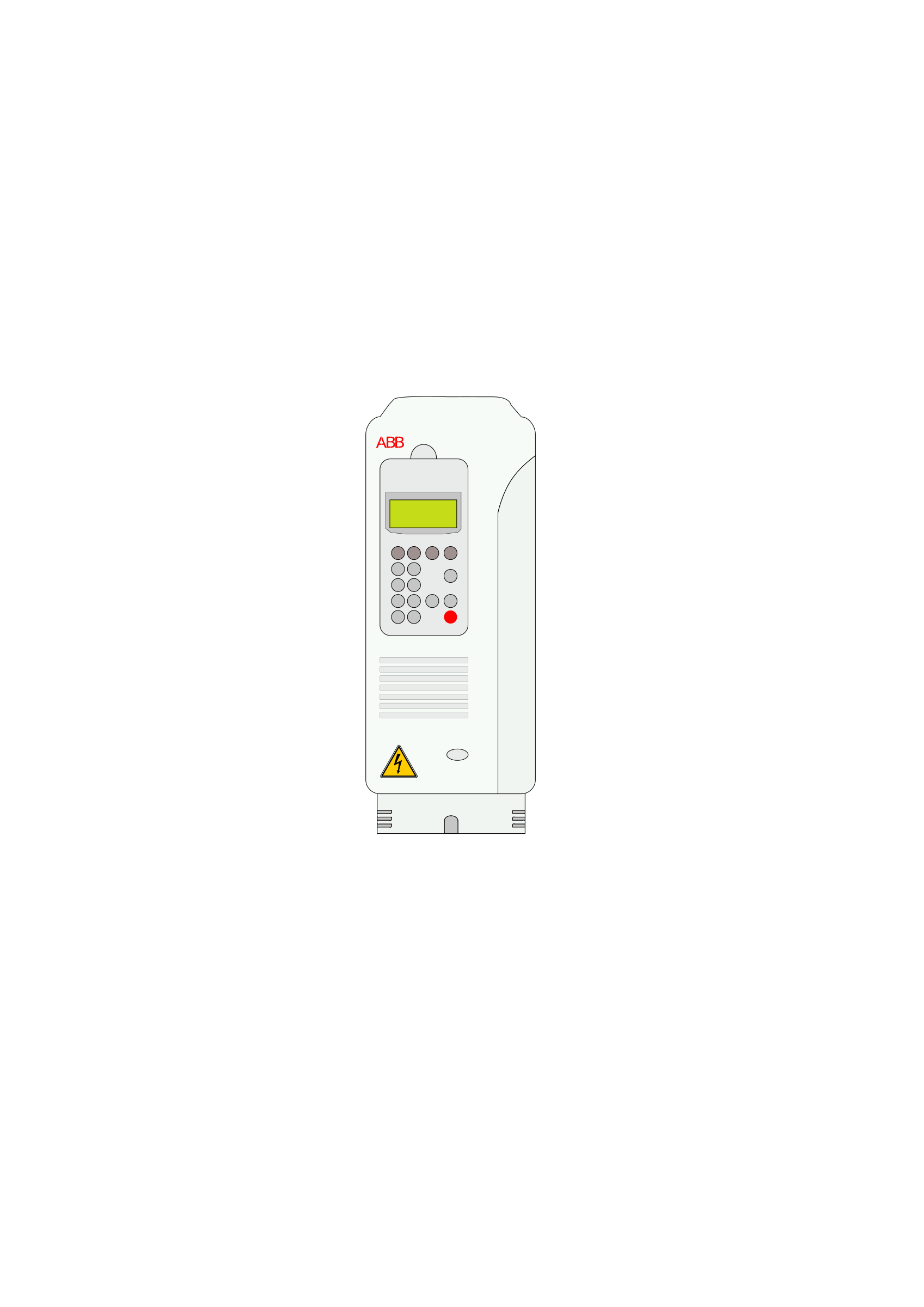 Inverter ABB ACS800 by simatic