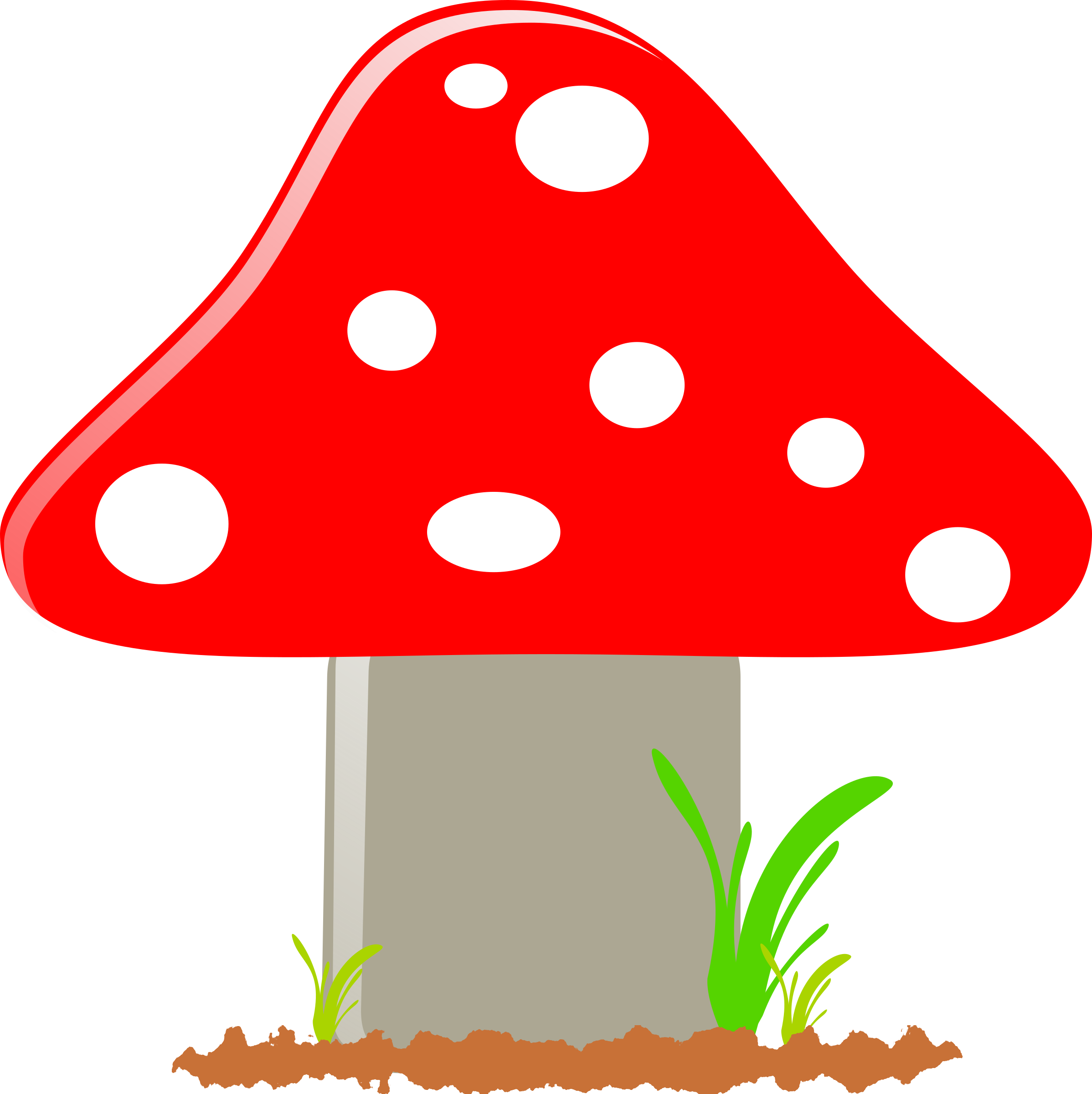 clipart mushroom   seta May Flowers Clip Art Butterflies and Flowers Clip Art