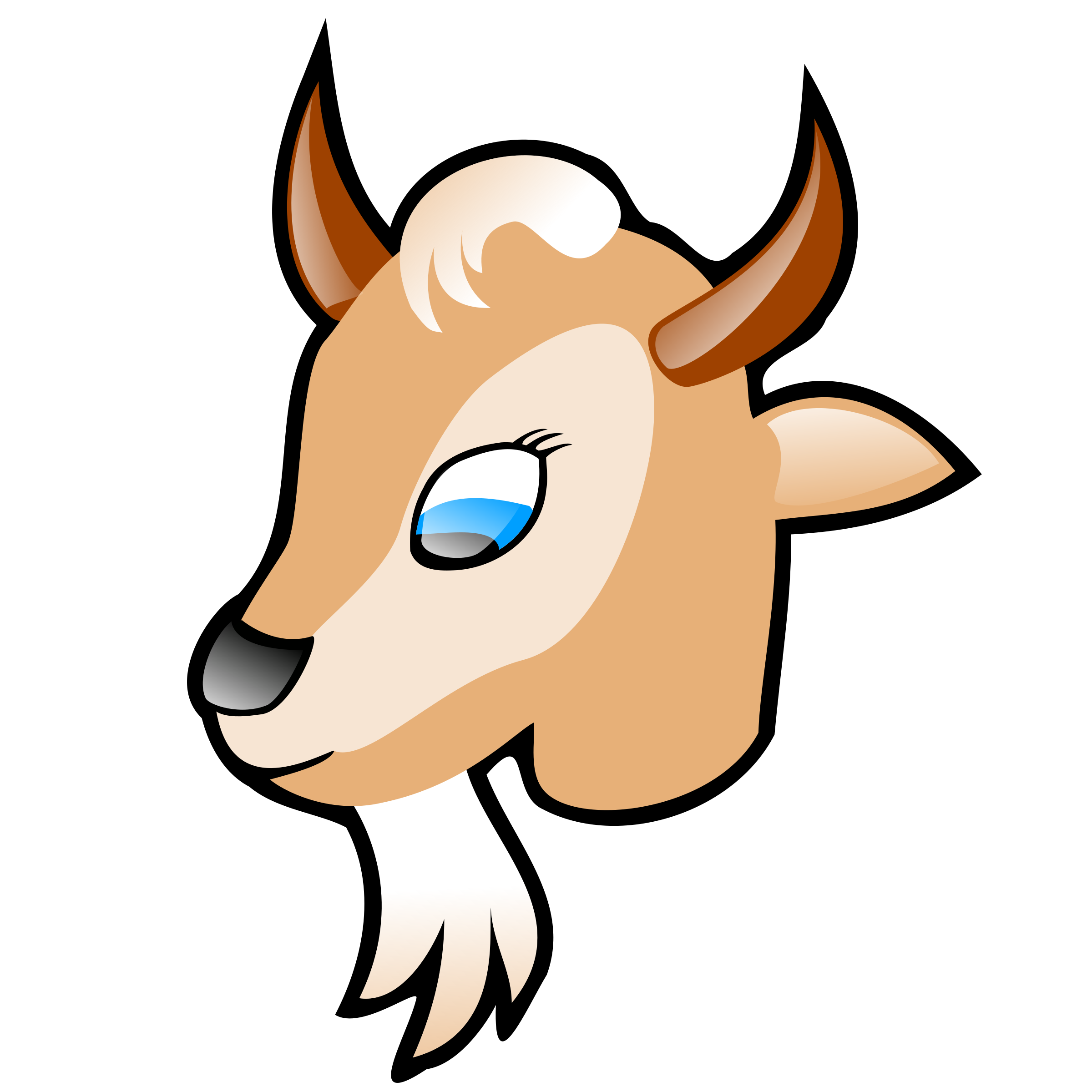 Goat head by nicubunu