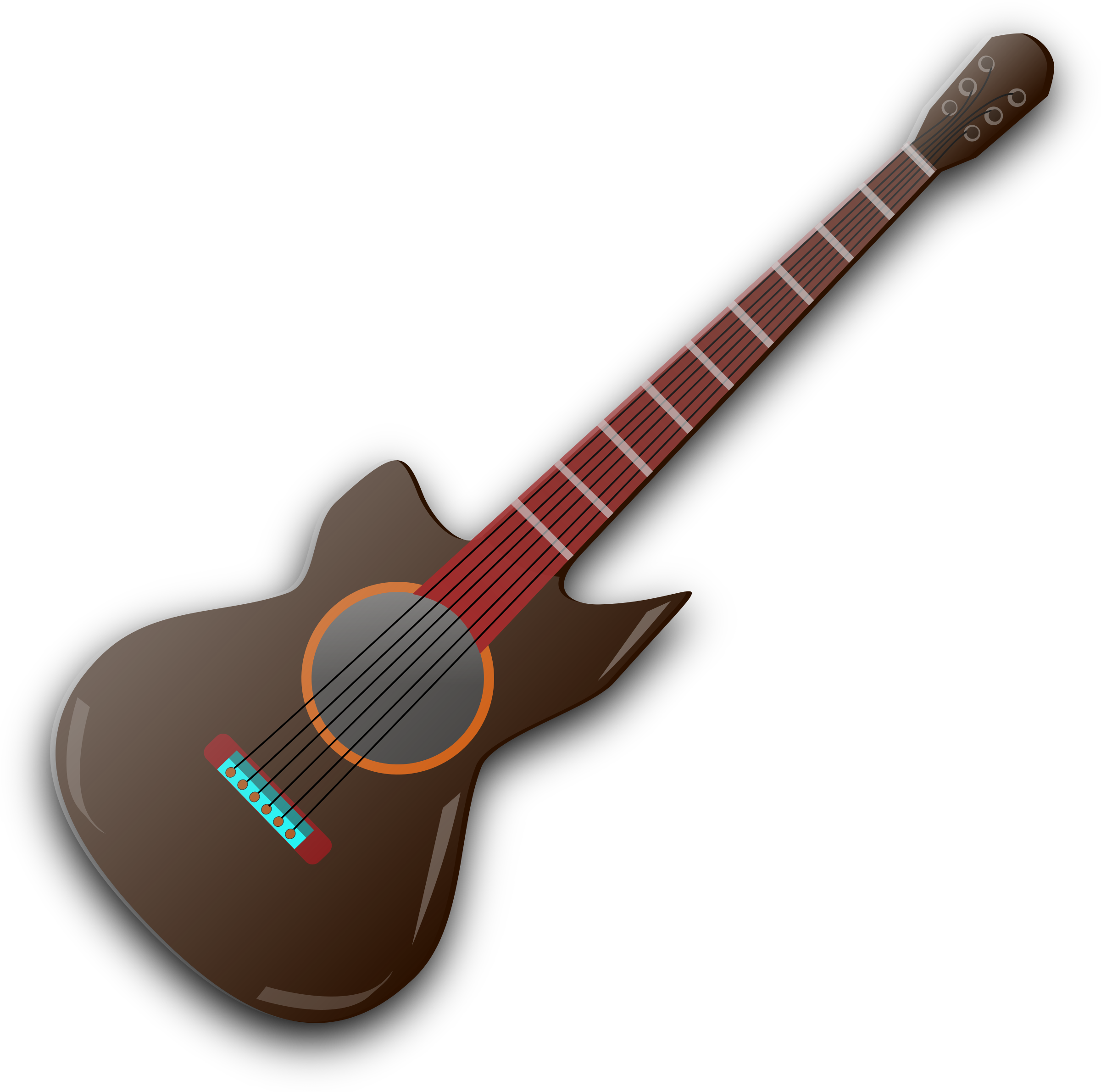 Wooden Guitar  by gsagri04