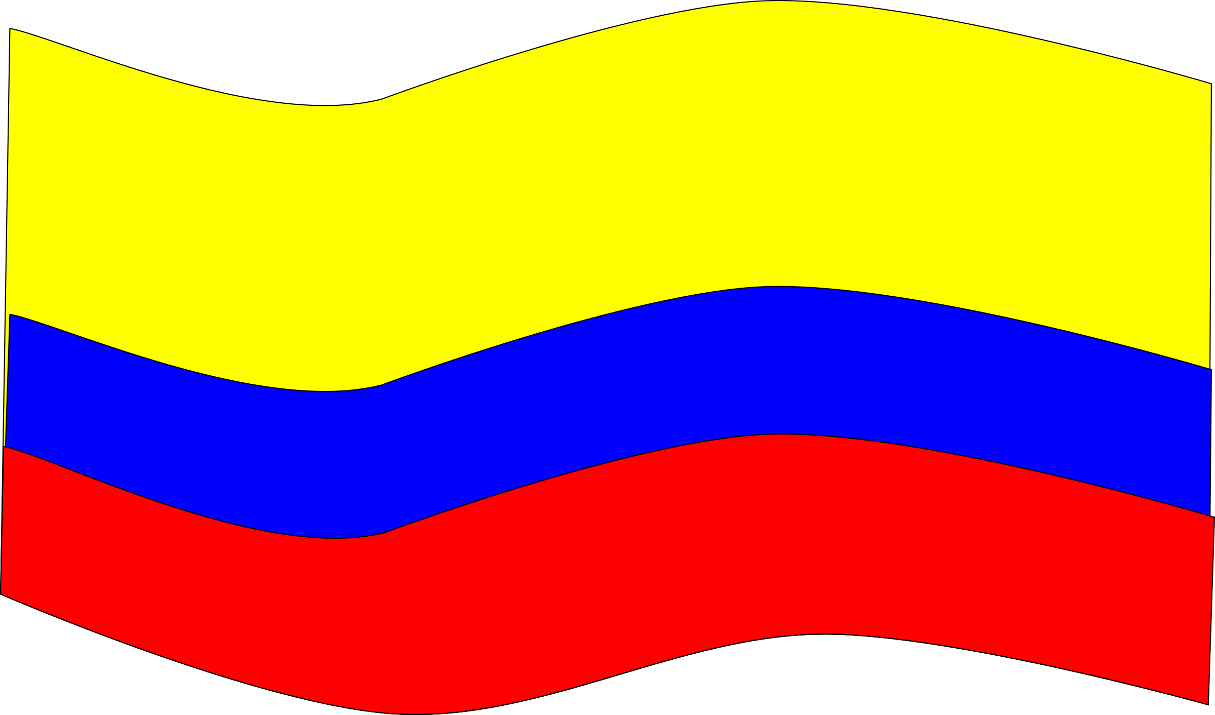 bandera colombia by german velez