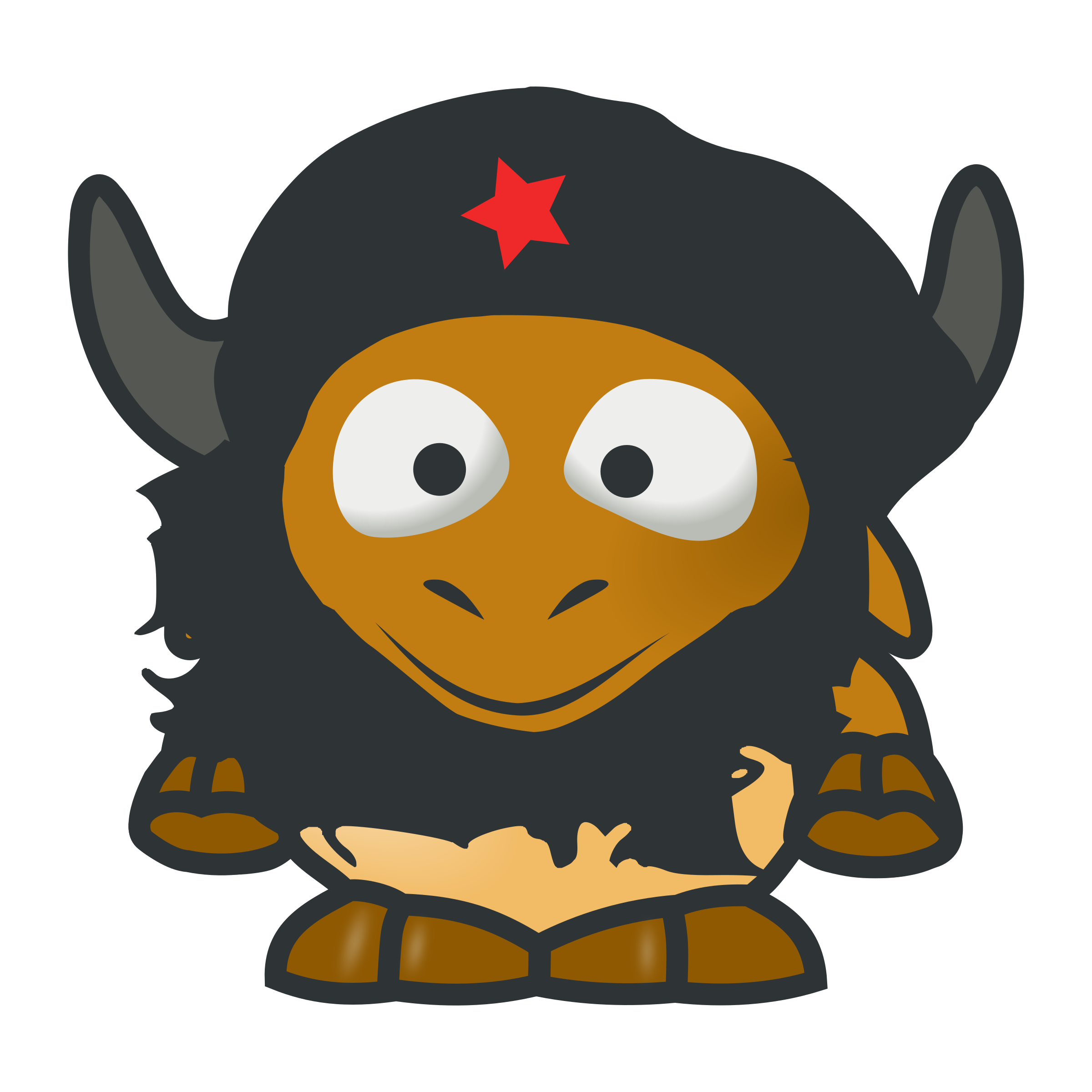 baby GNU Che by tonyk
