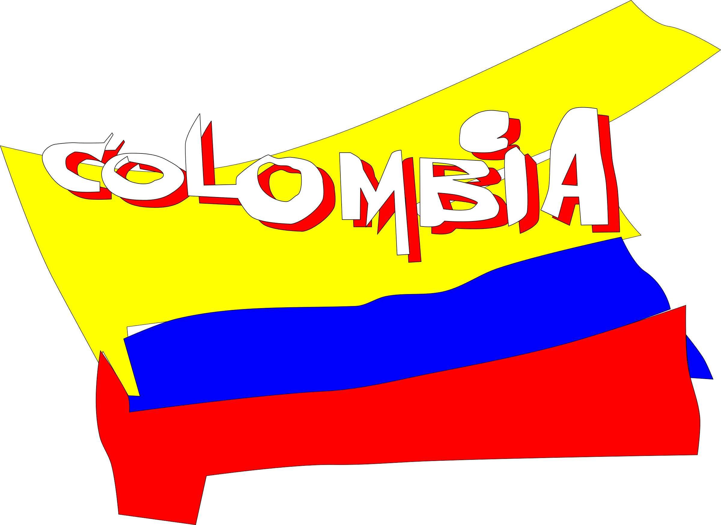 Colombia animada by Esteban