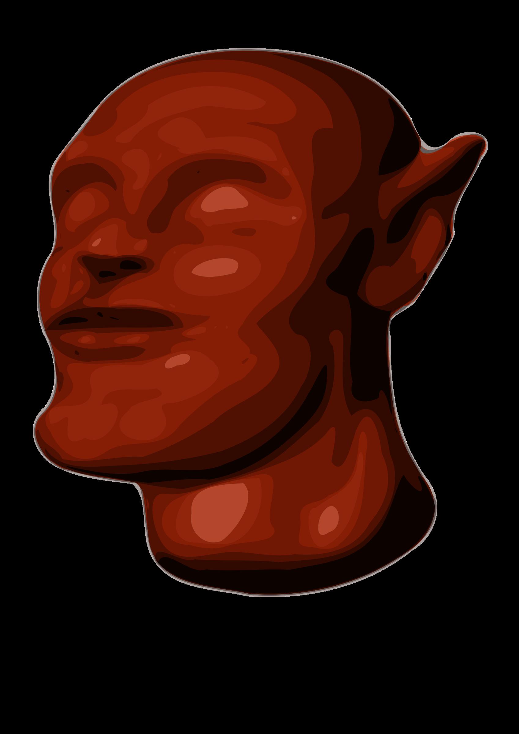Clipart Am Alien Head 3