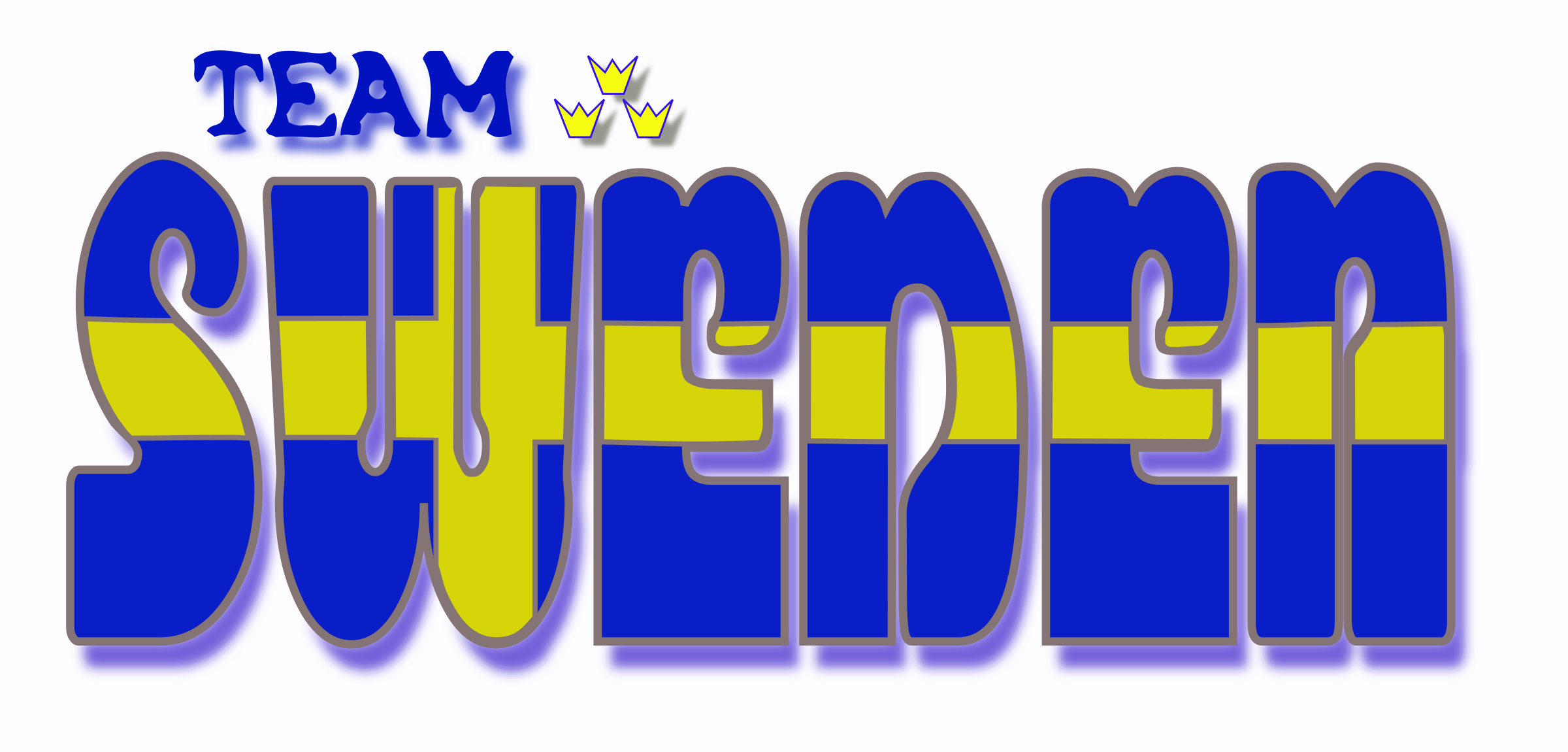 Team Sweden (fantasy logotype) by mystica