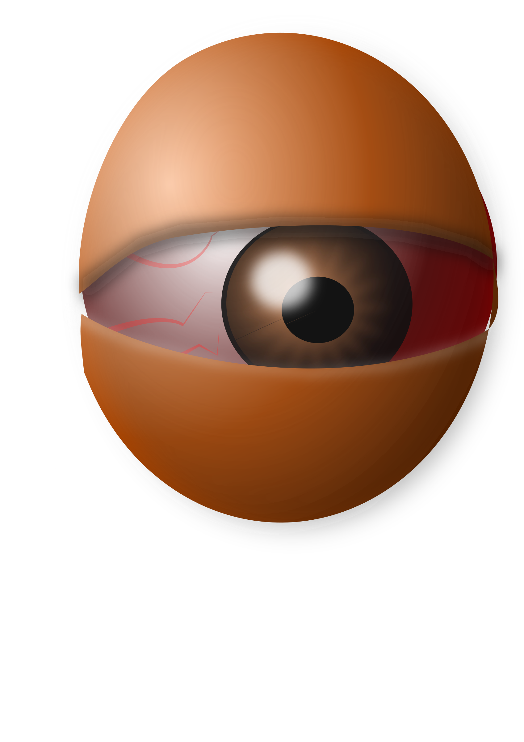 AM Eyeball Egg by AMProSoftDesign