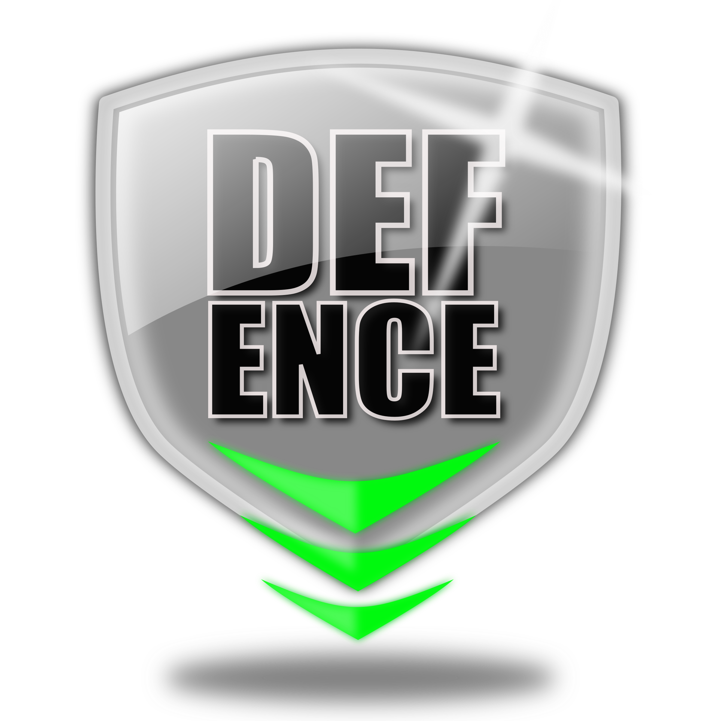 Defence logo shield by lekamie