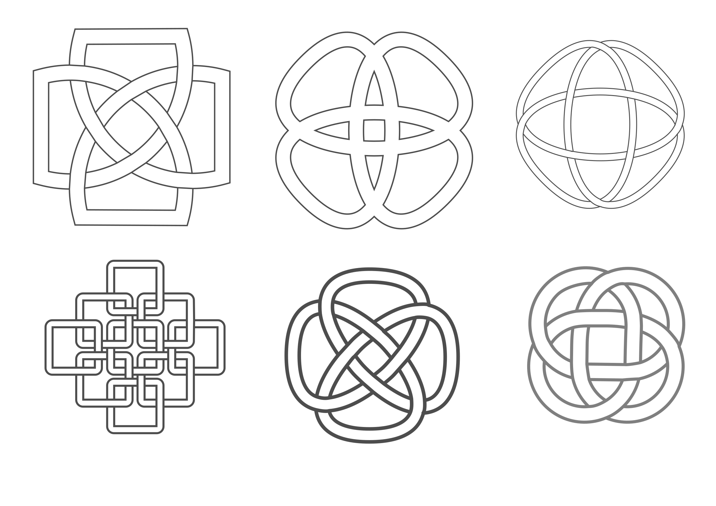 Celtic inspired knots by kattekrab