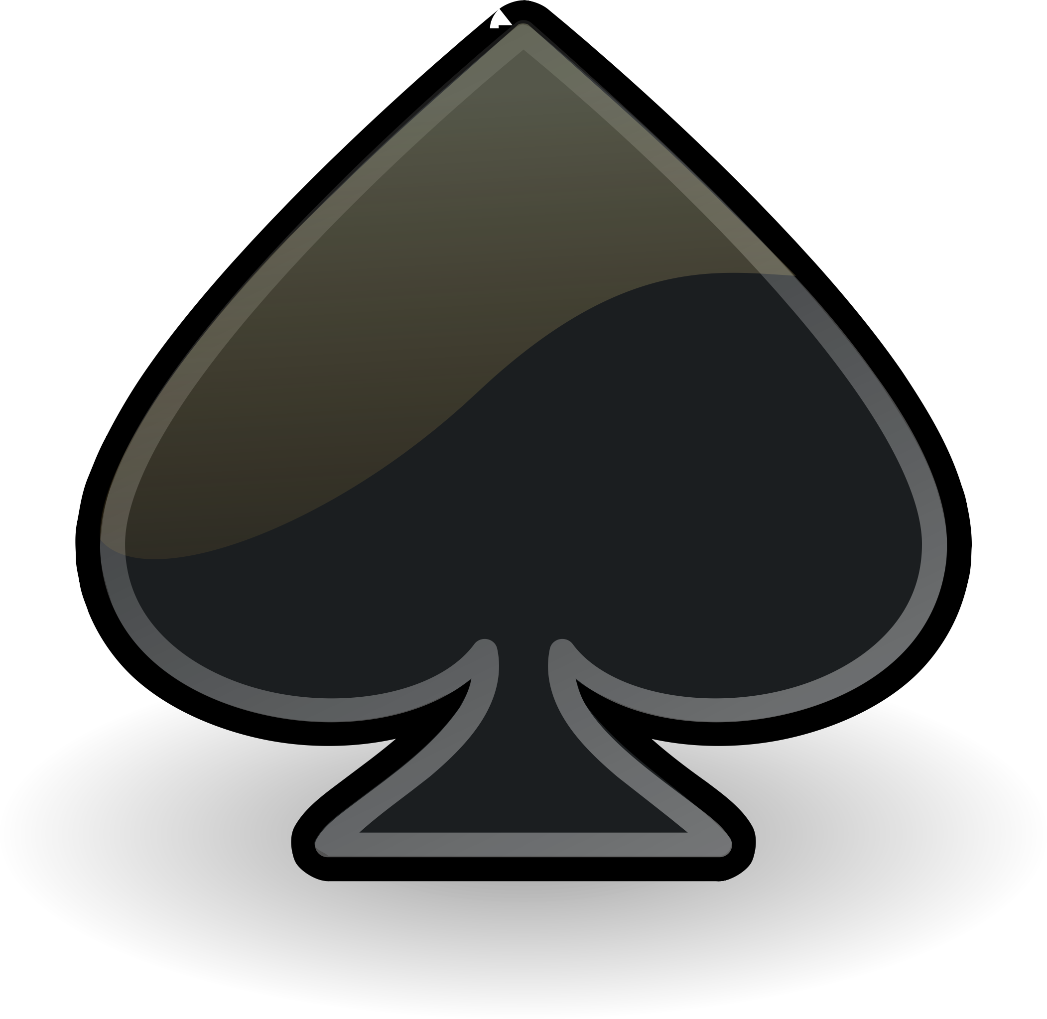 emblem-spades by Rocket000