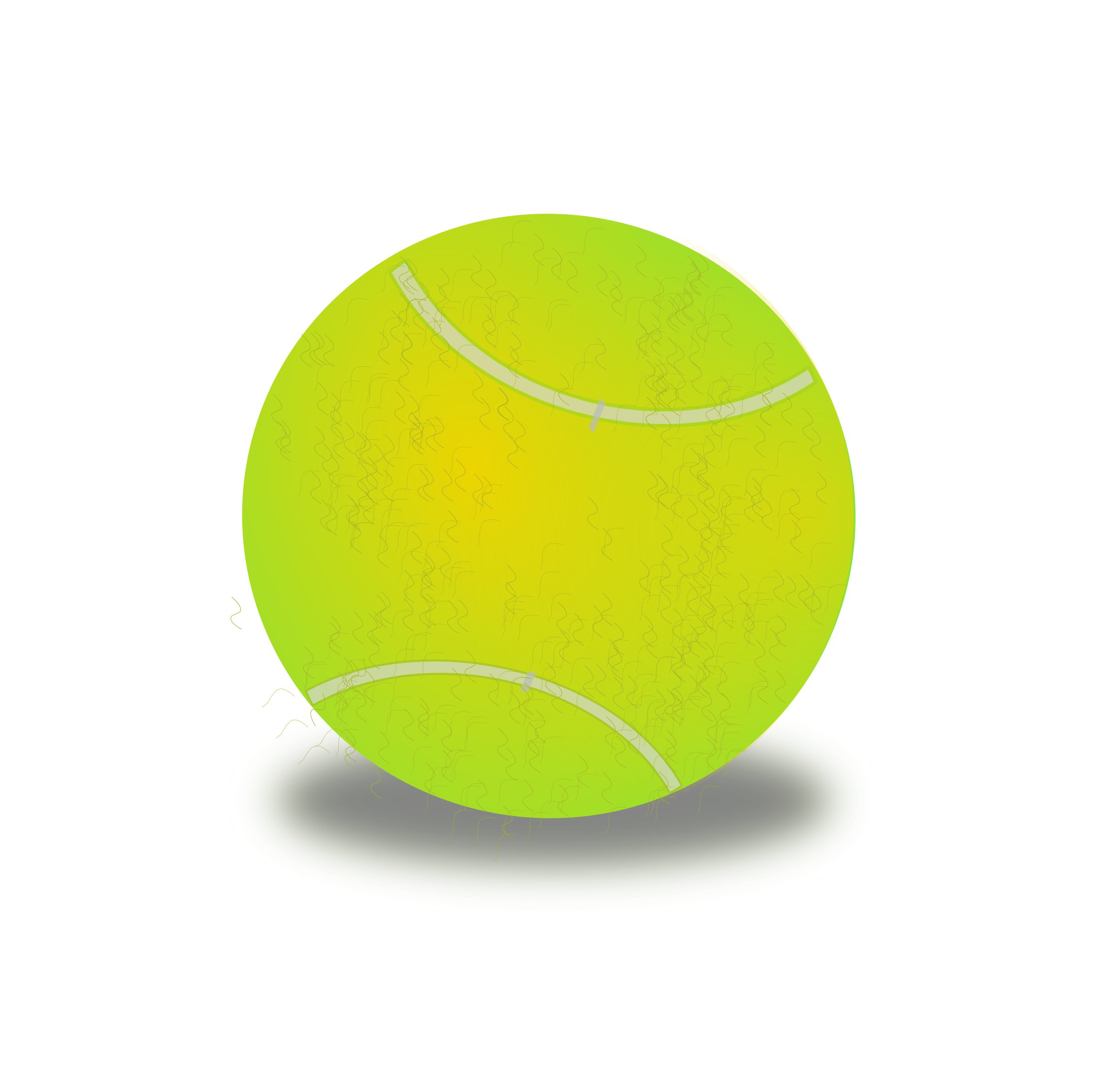 Tennis ball by netalloy