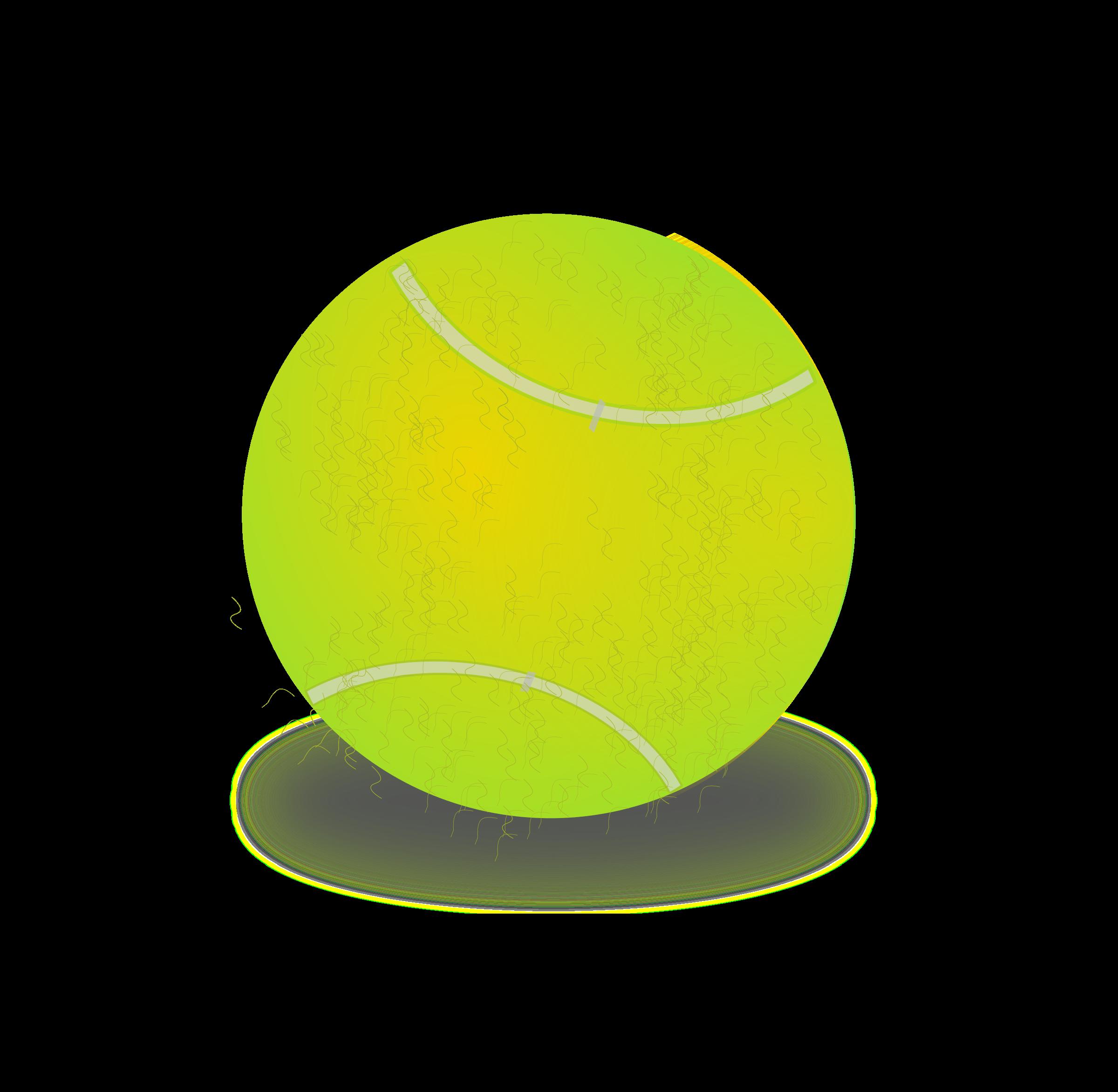 Clipart - Tennis ball