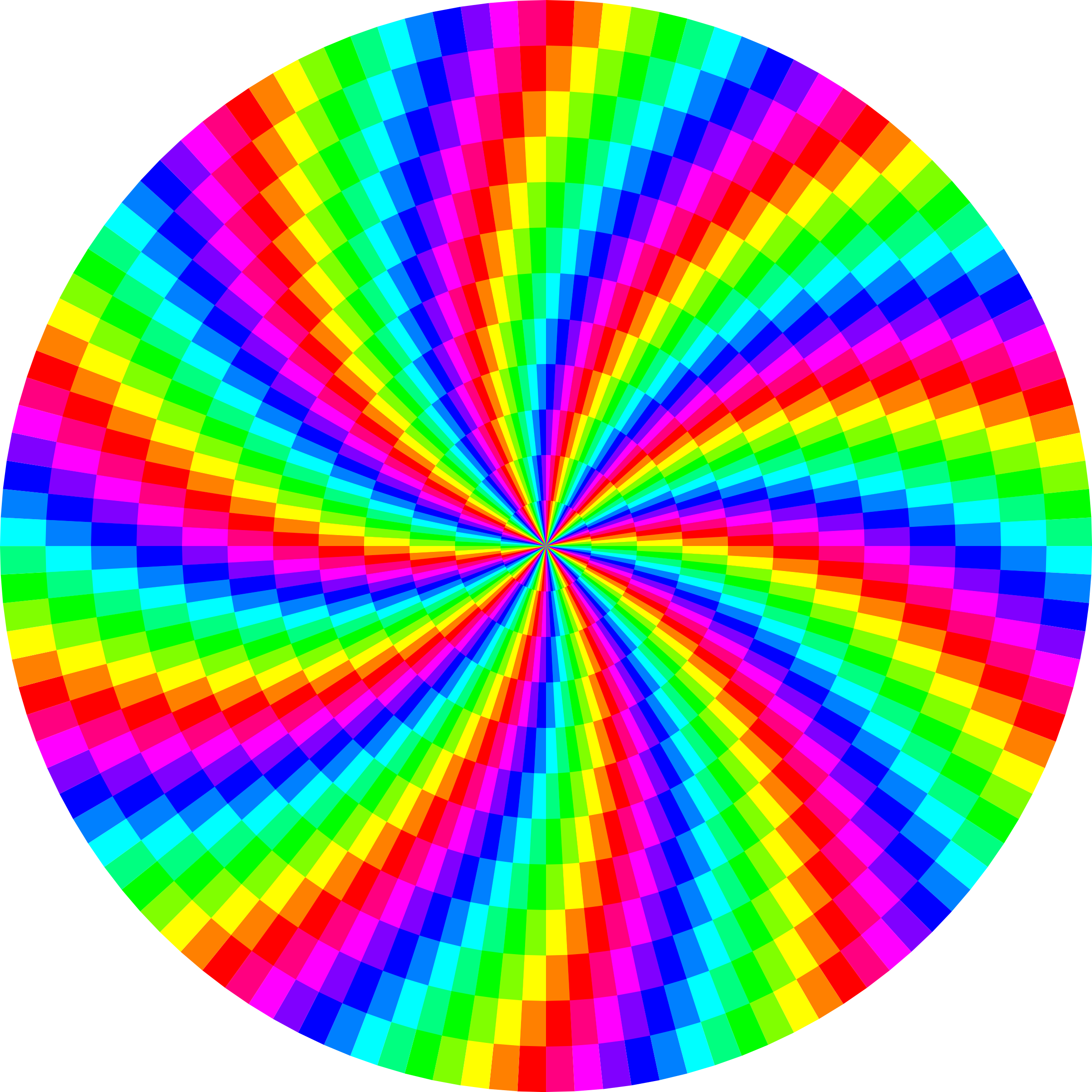 rainbow swirl 120gon by 10binary