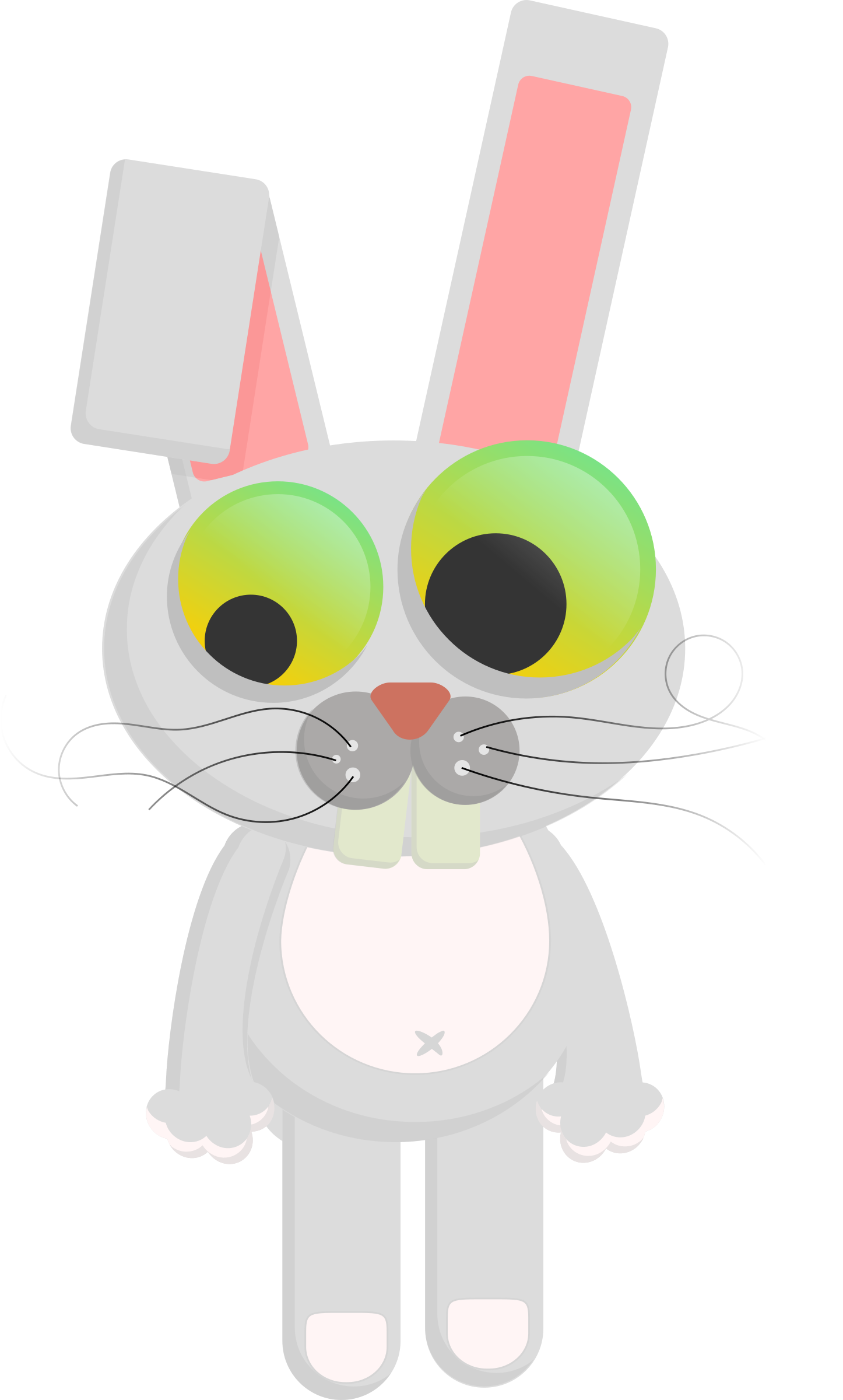 Cartoon Rabbit by PrinterKiller