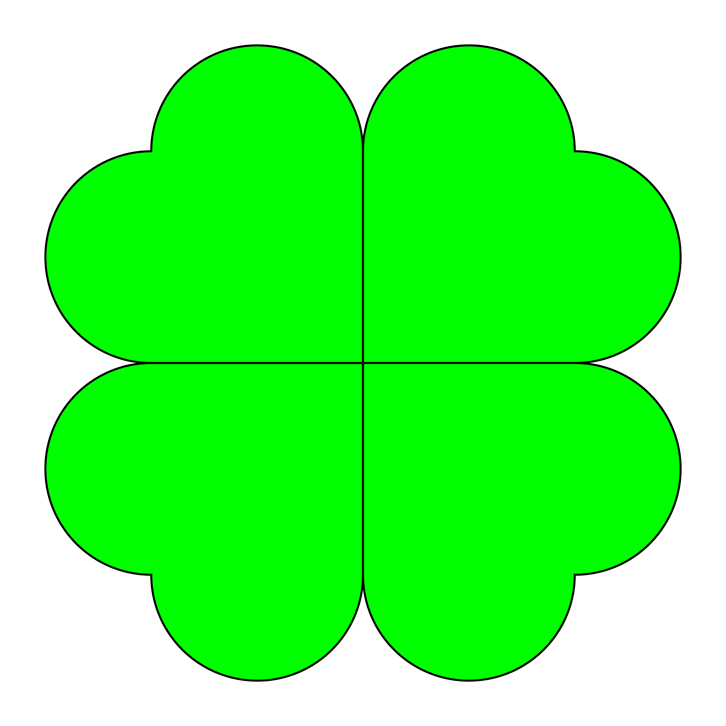 four leaf clover by 10binary