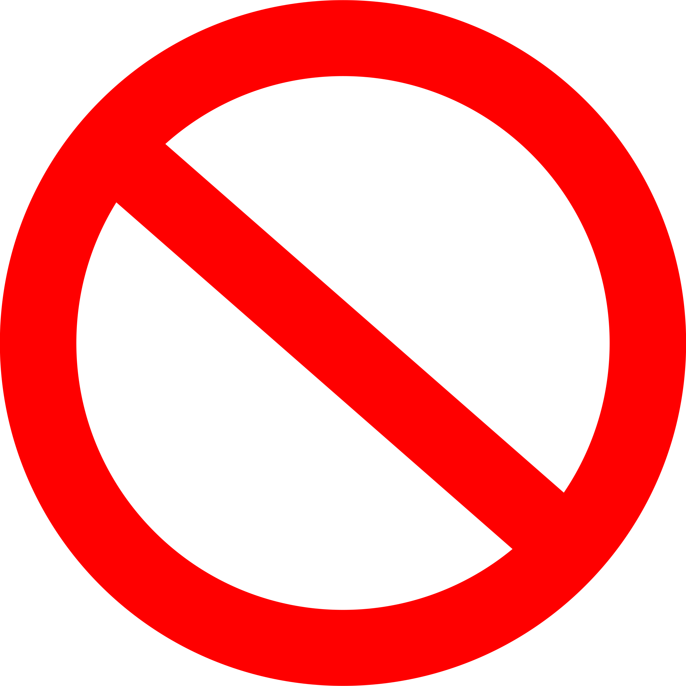 clipart panneau interdit forbidden road sign basic