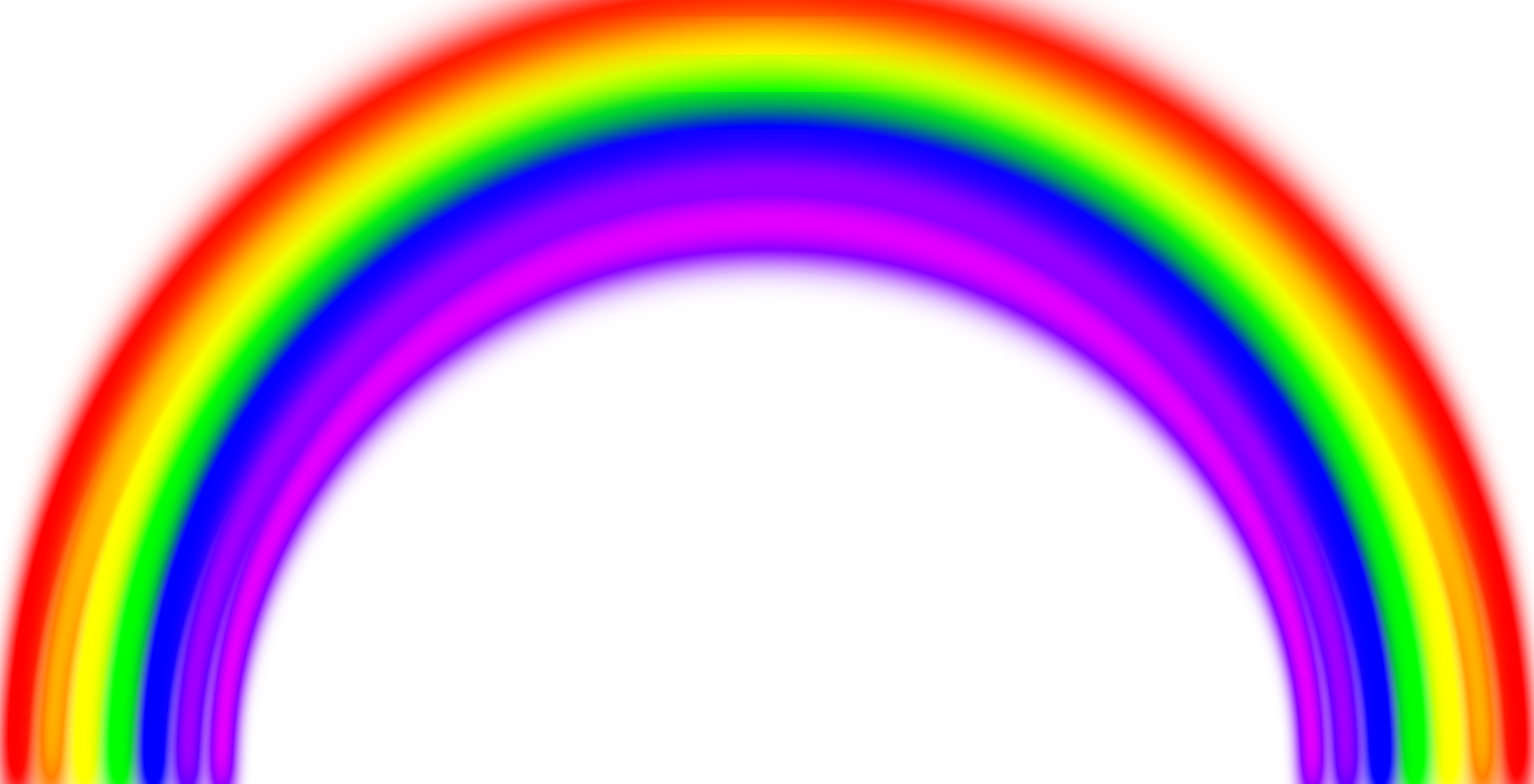 Simple Rainbow with Blur by X-Ray