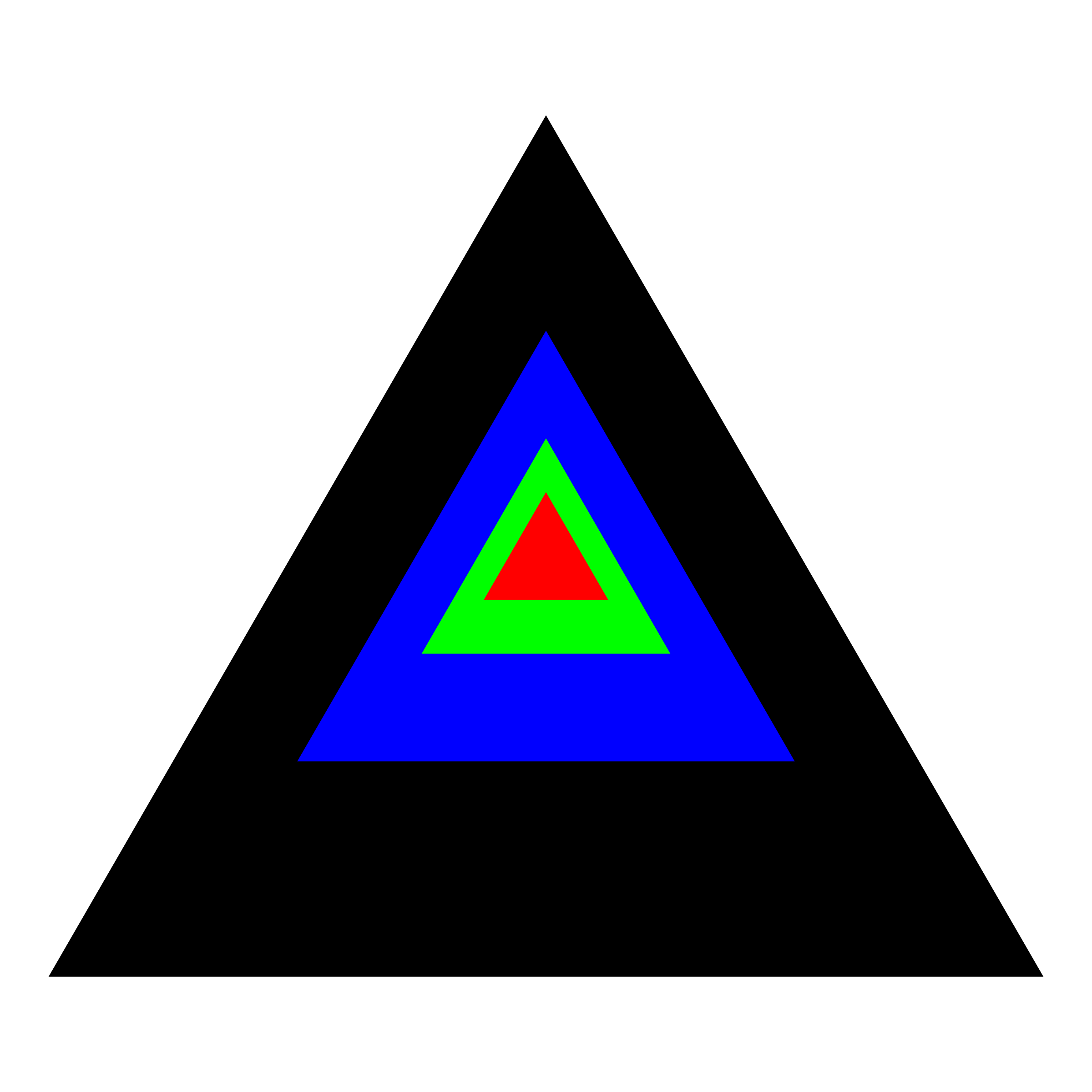 regular triangle discovery by 10binary
