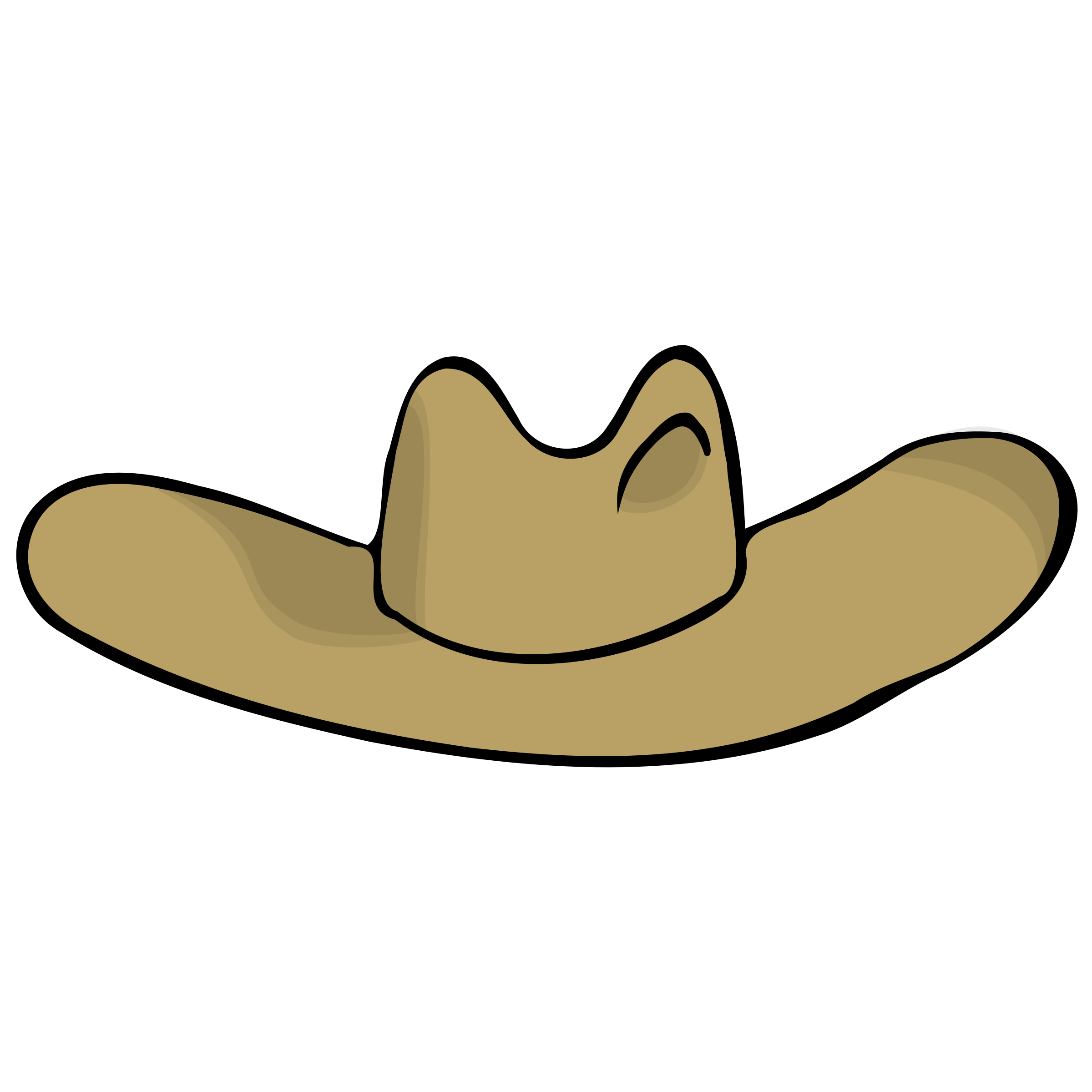 Cowboy hat by nicubunu