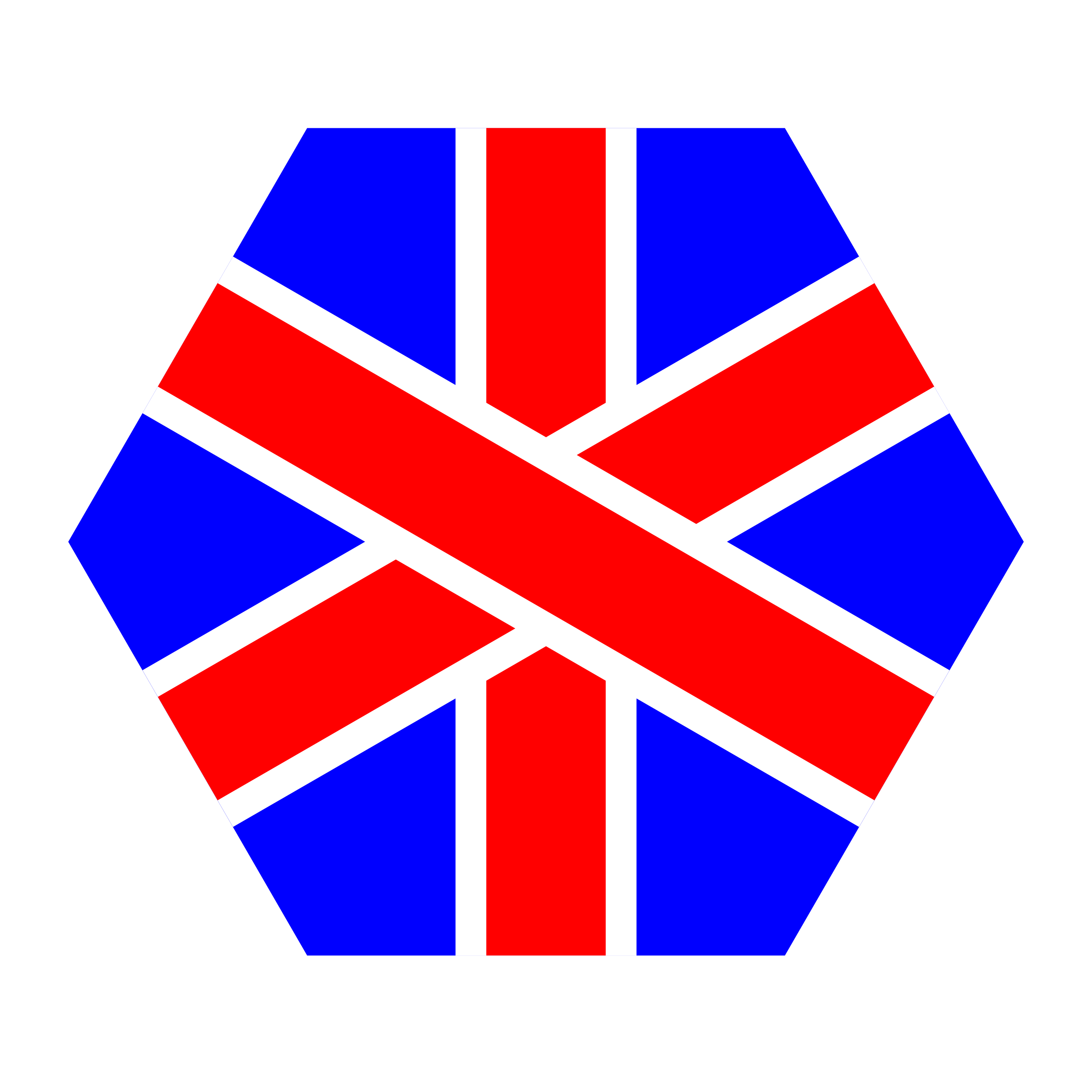 english hexagon by 10binary