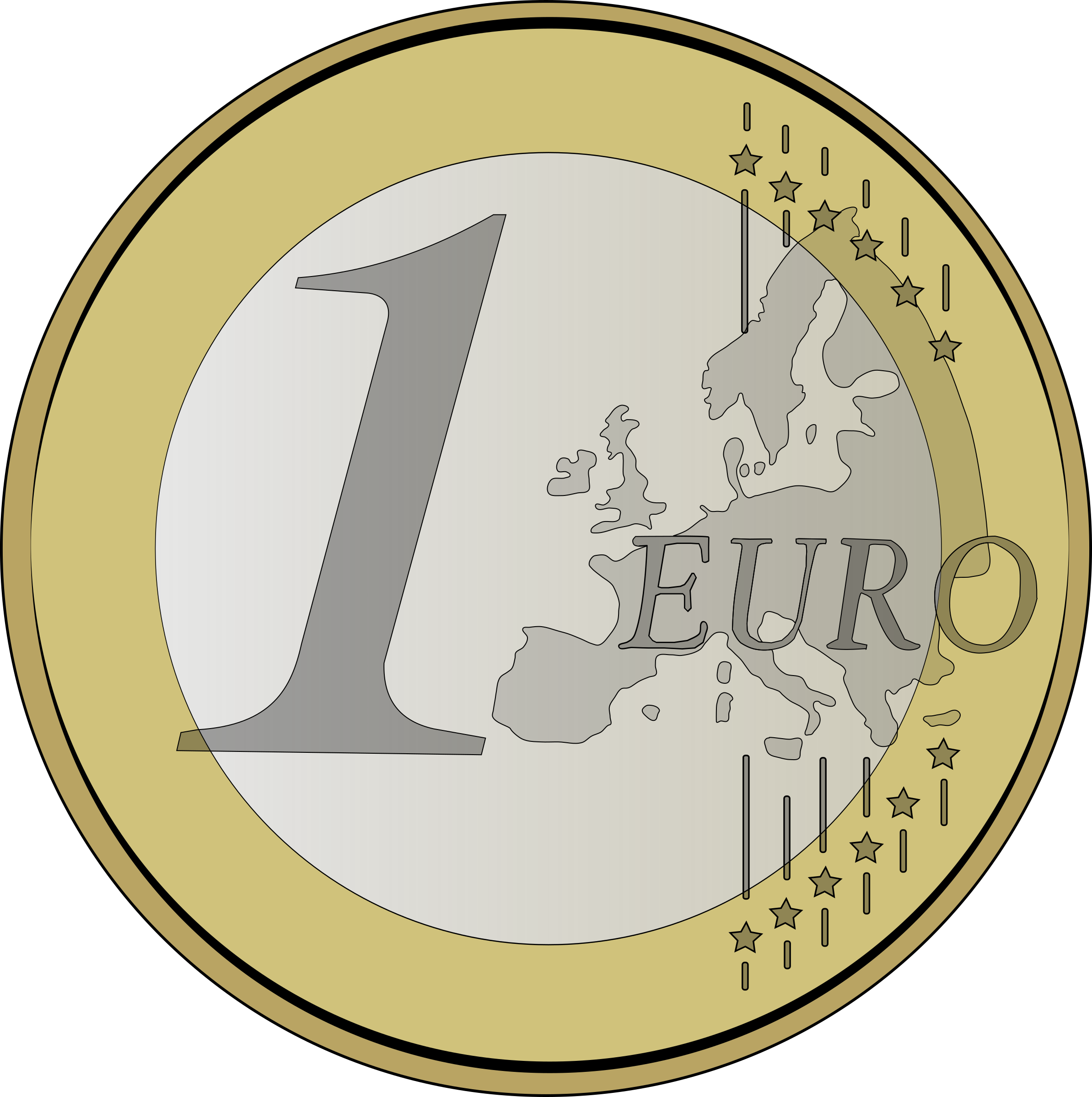 1 euro by lolonene