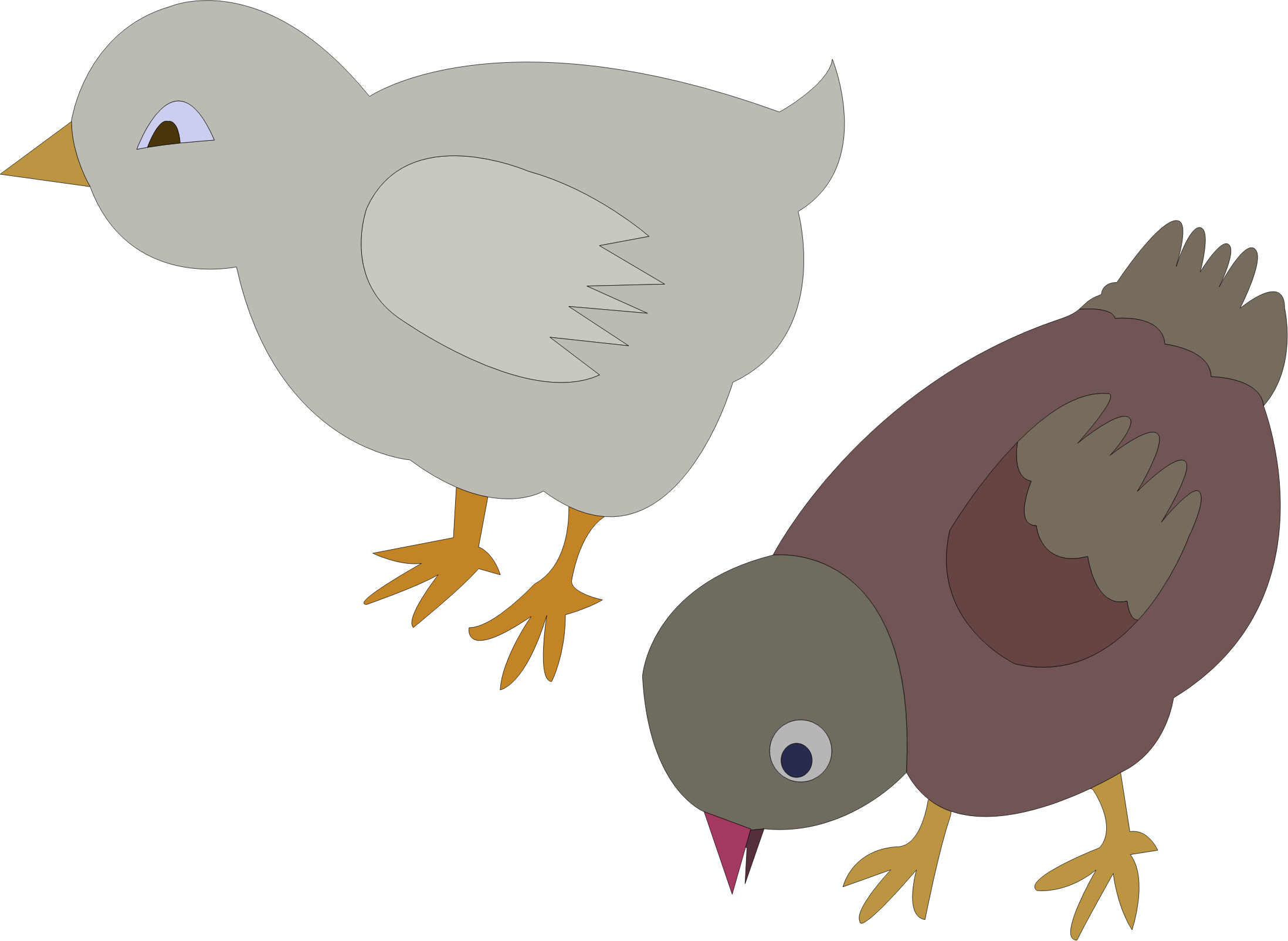 chickens-002-figure-color by lobaz.r