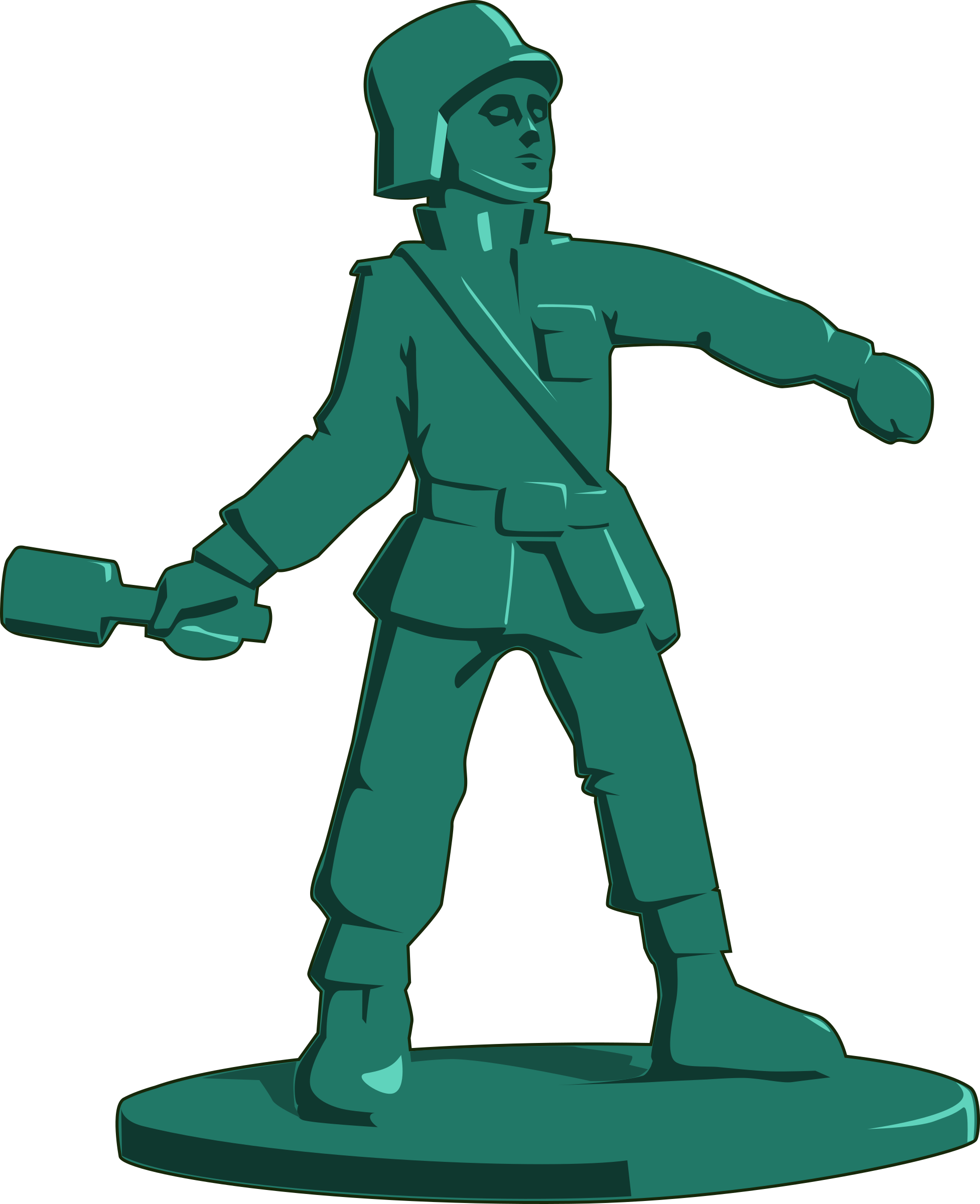 toy soldier by tzunghaor