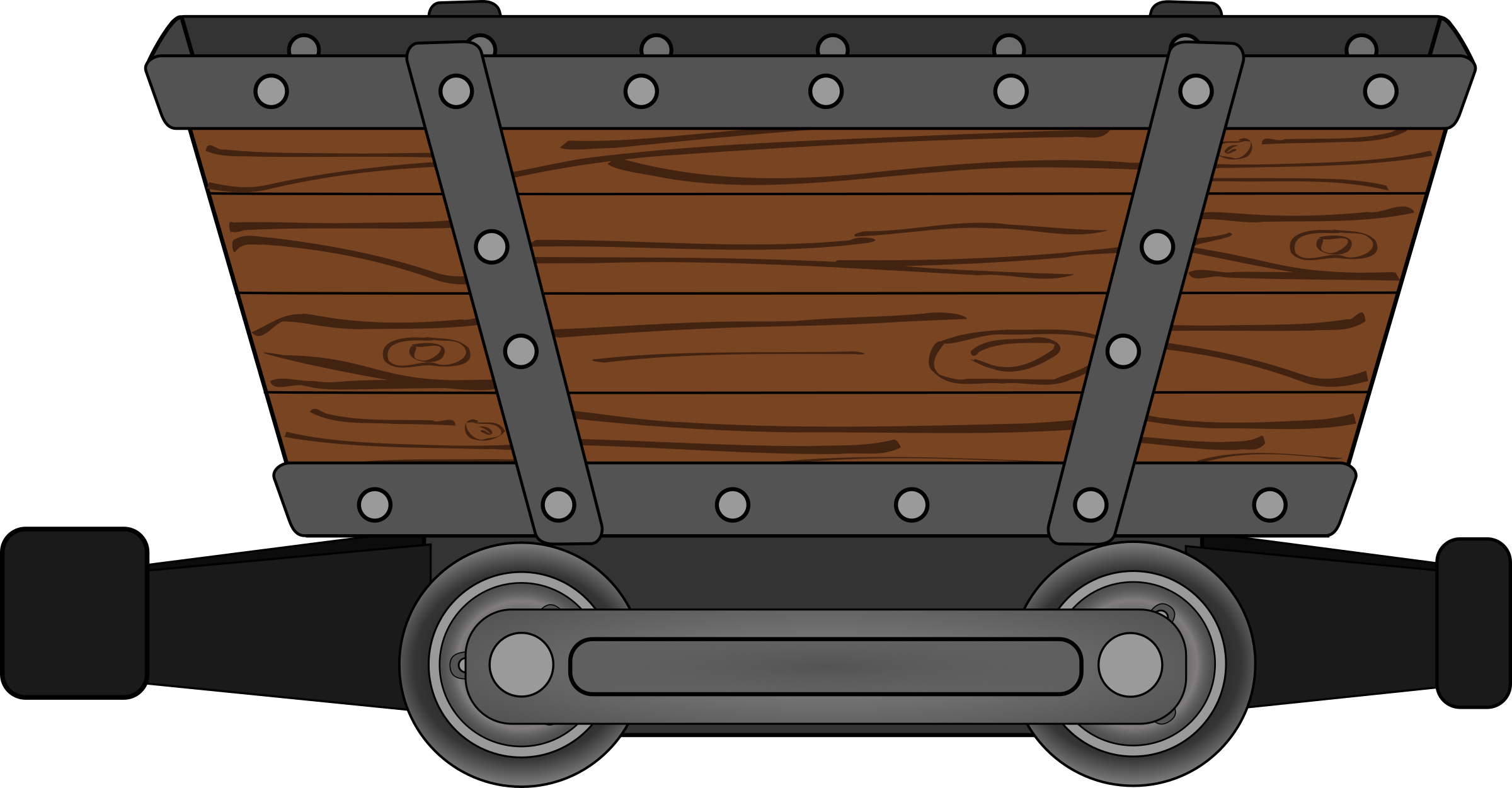 mine mining car by josepetri