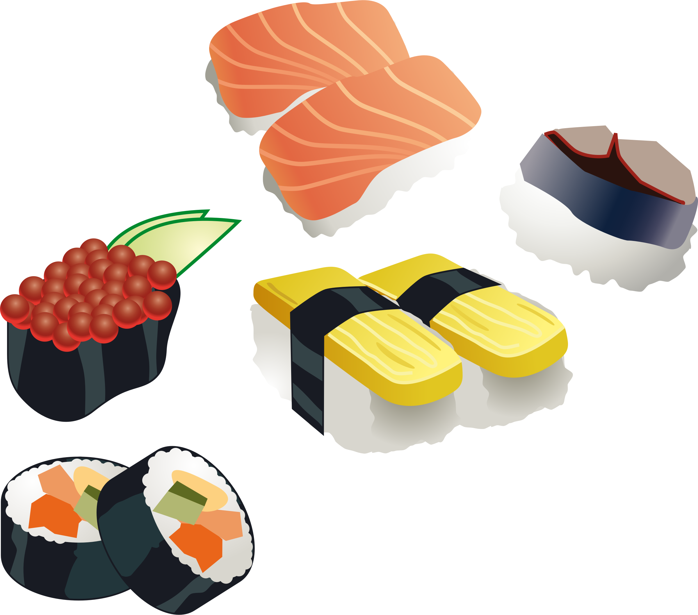 Sushi set by Muga