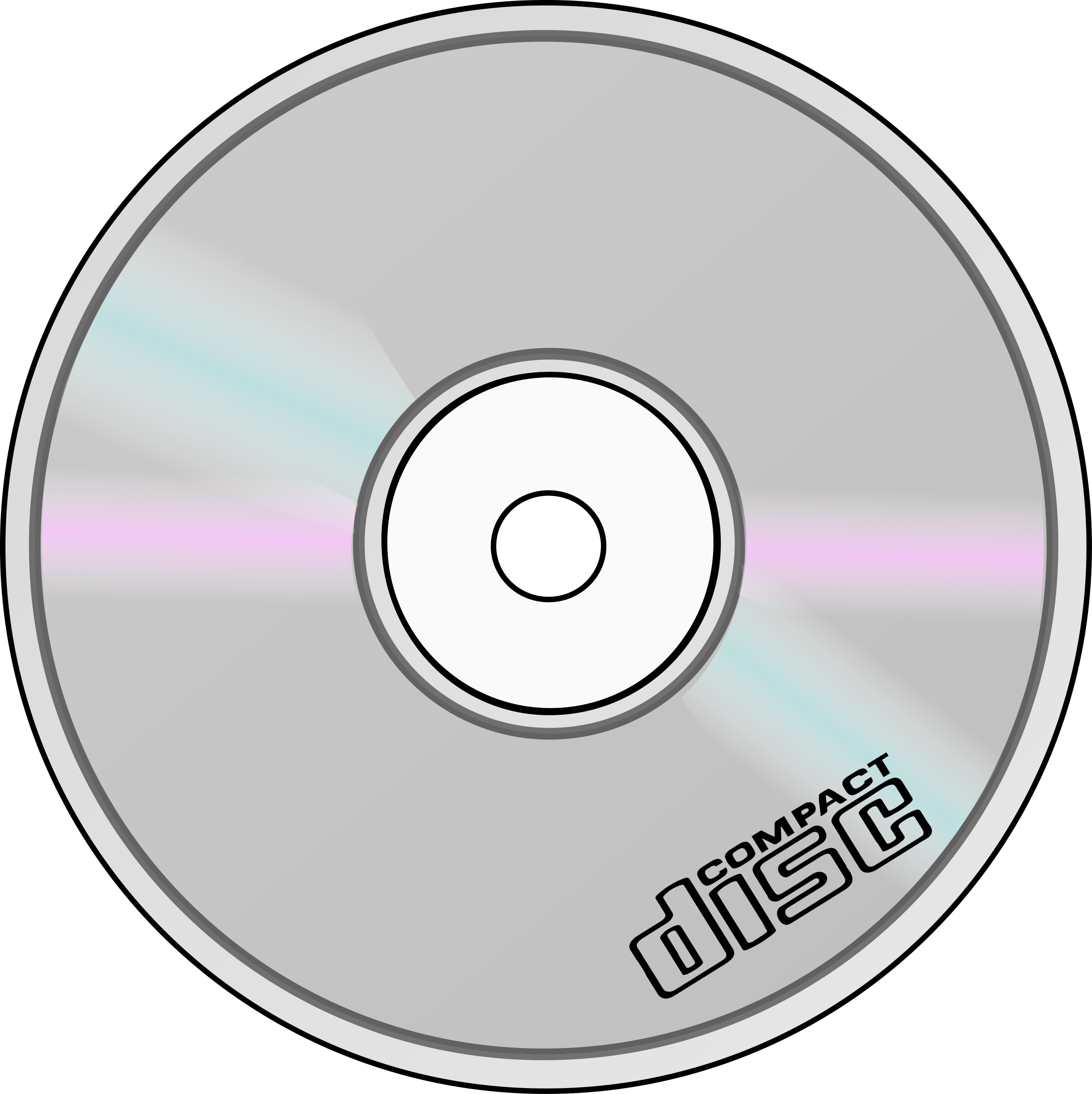 Compact Disc by nicubunu