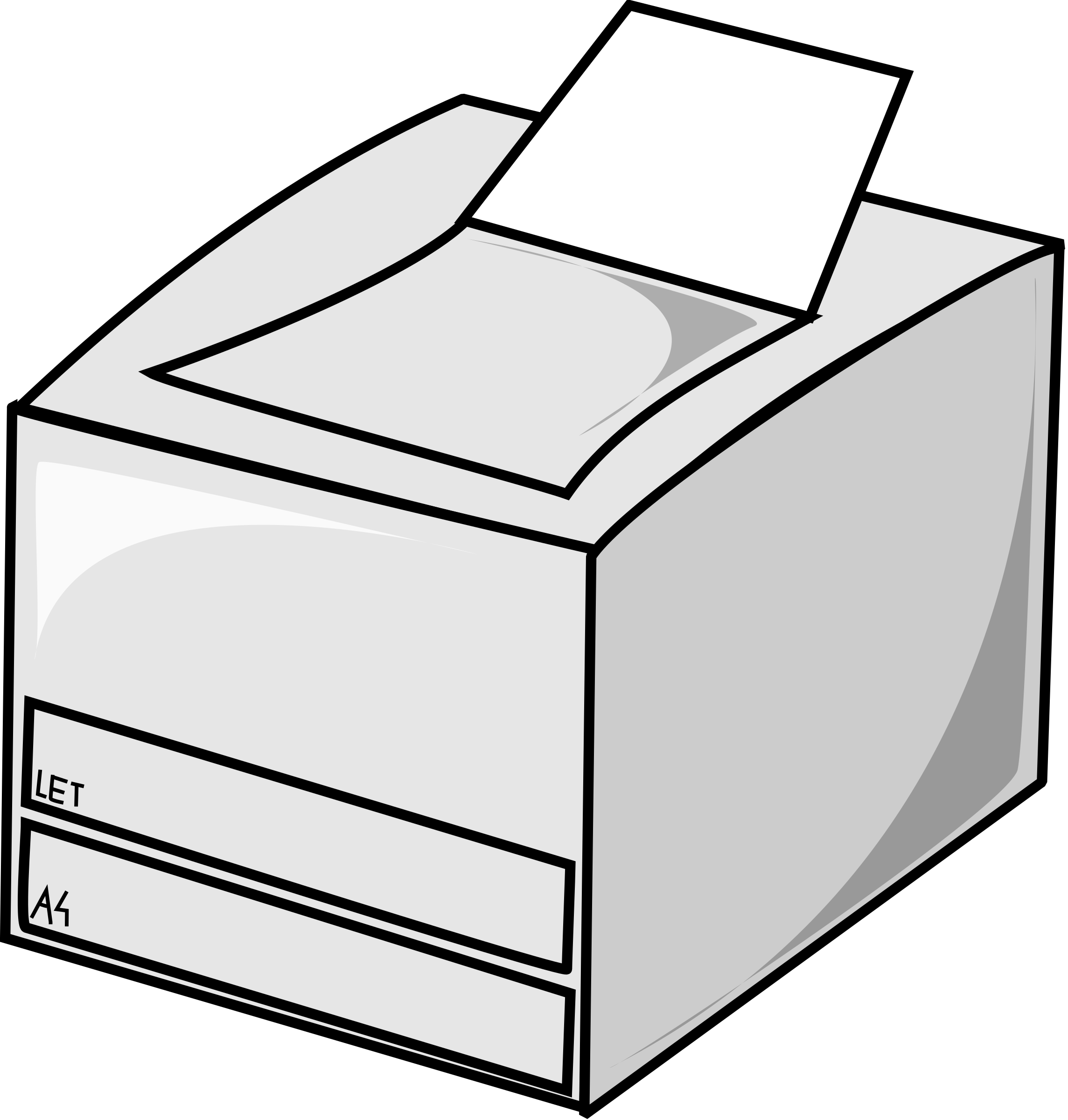 Laser printer by nicubunu