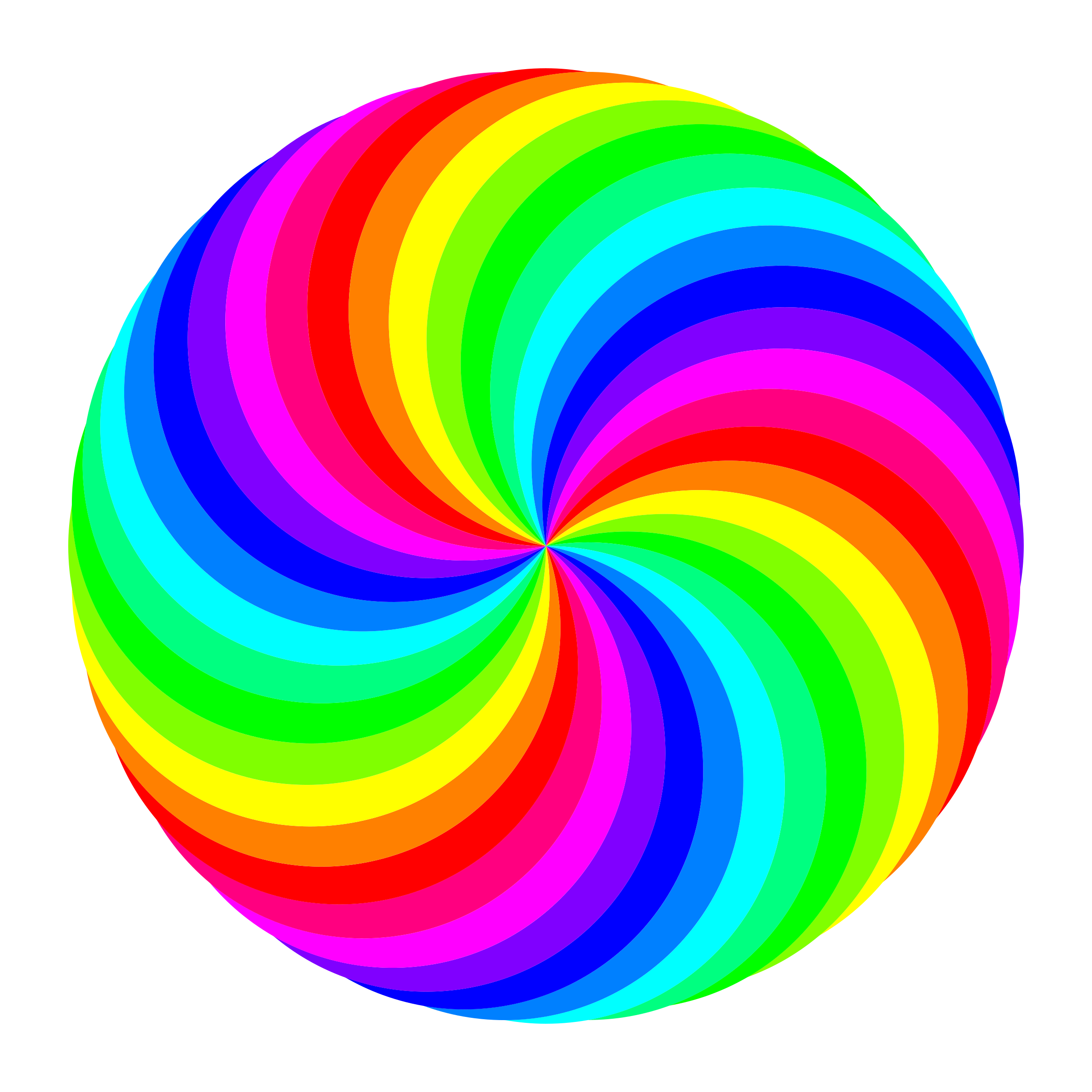 36 circle swirl 12 color by 10binary