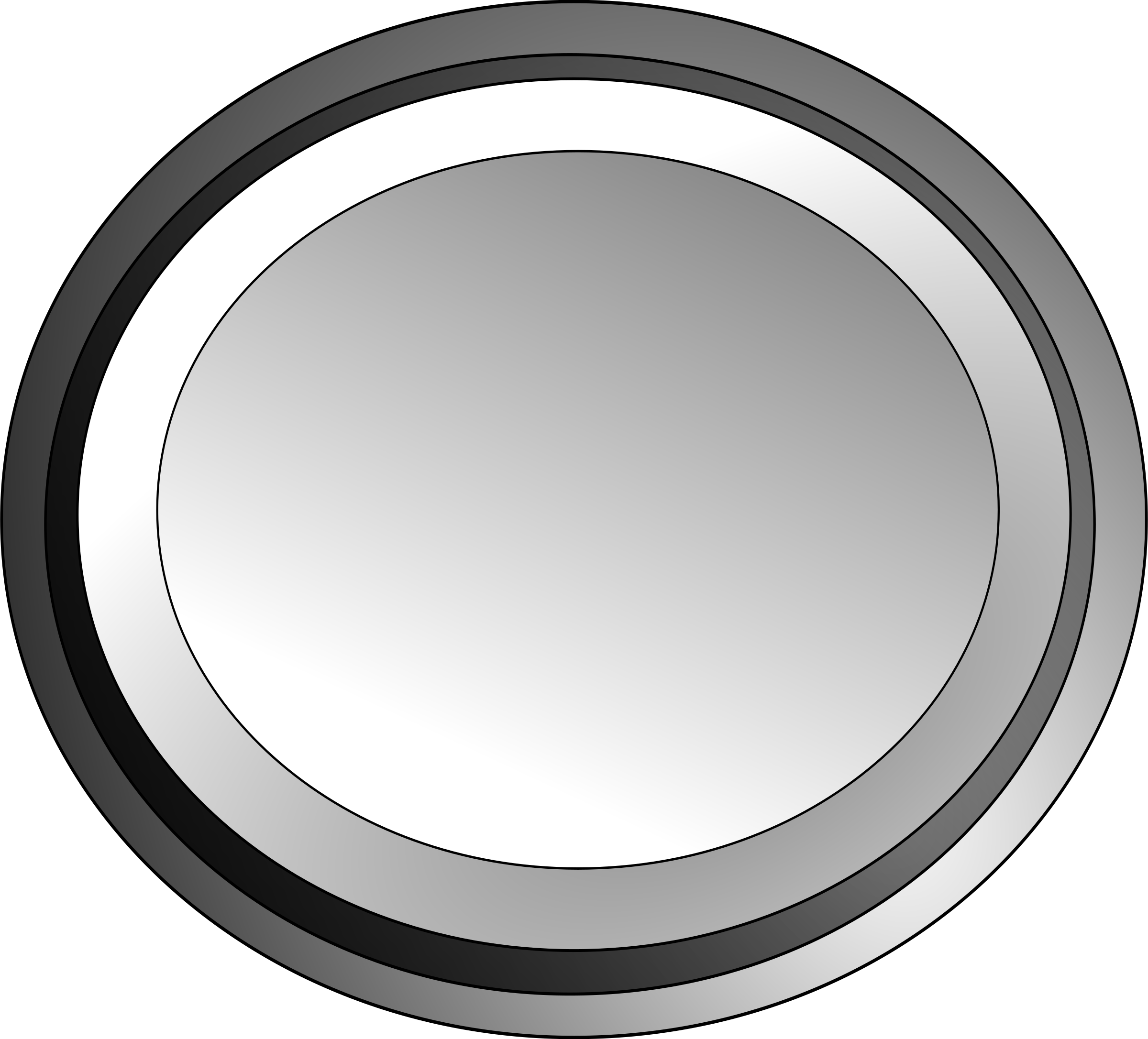 White circle button by SABROG