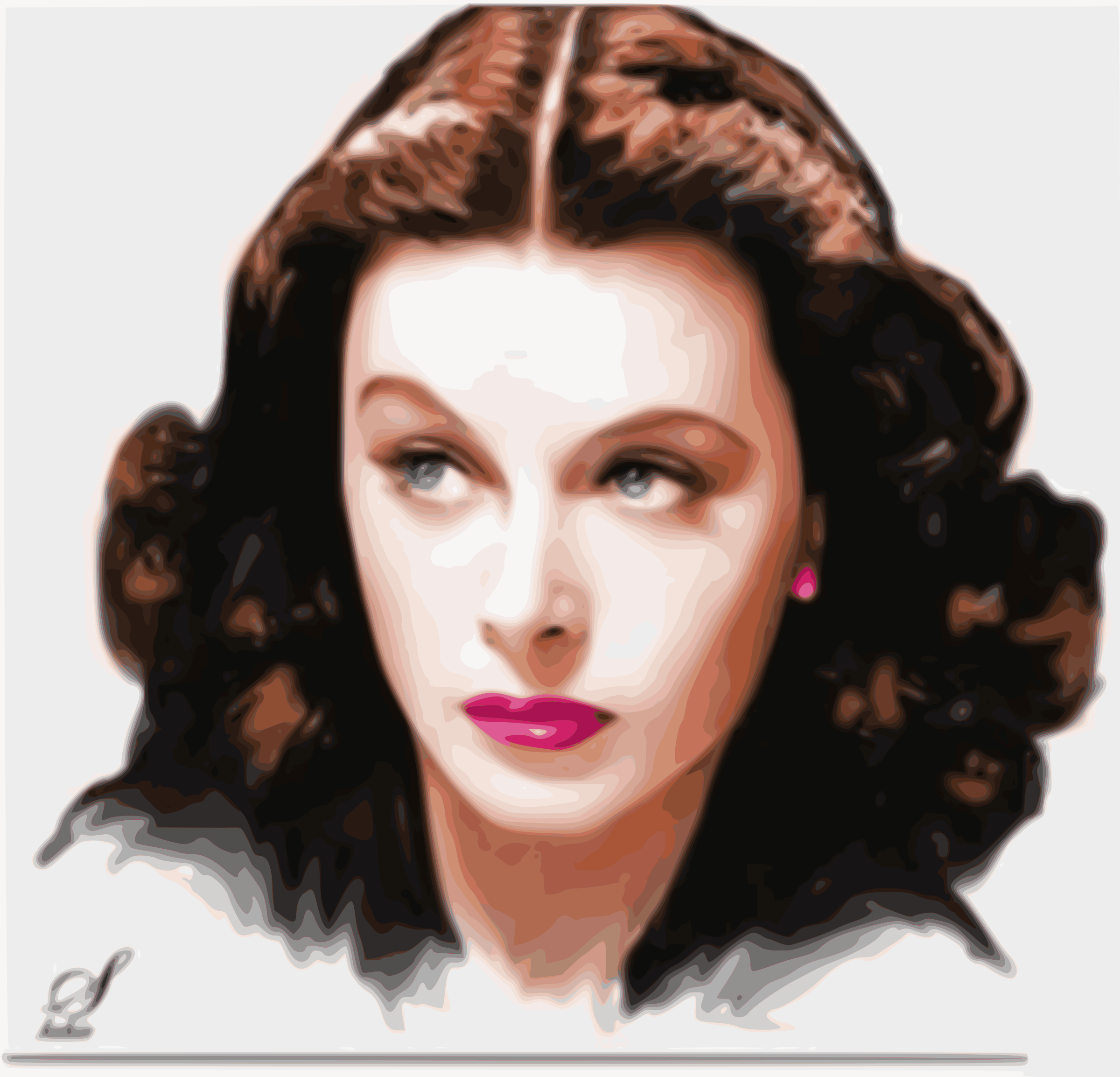 Hedy Lamarr by joaquinquant
