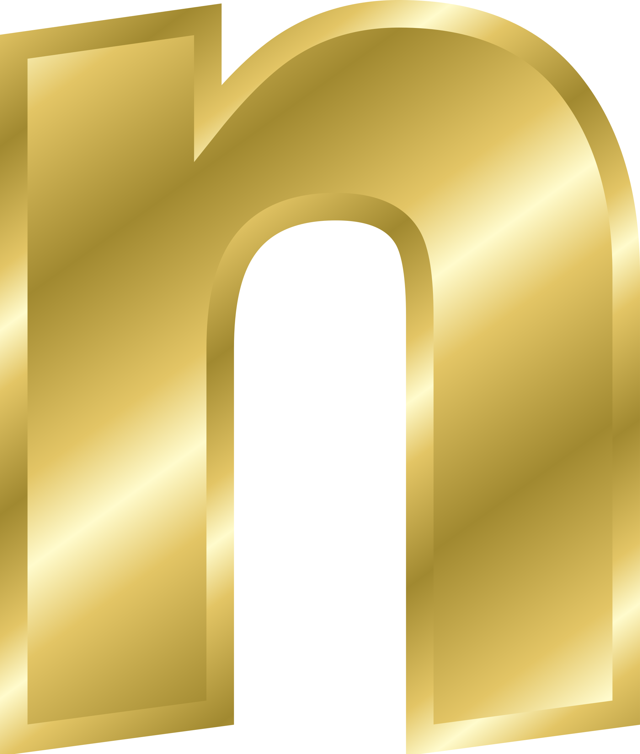 n letter in gold on quotesfab clipart effect letters alphabet gold 889