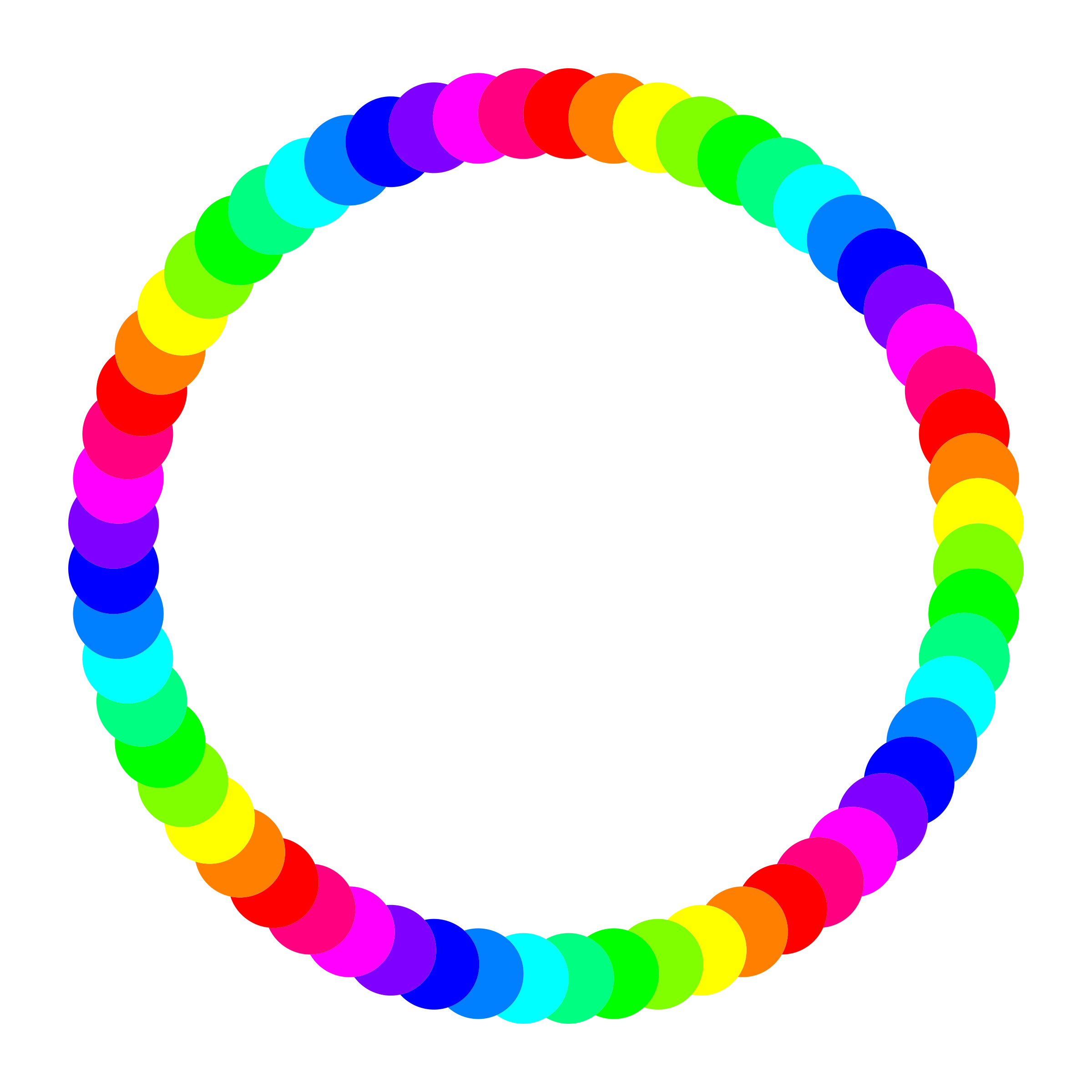 60 circle ring by 10binary